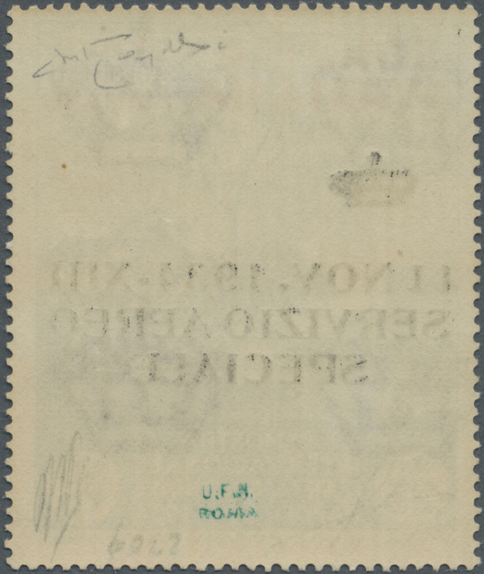 Lot 13871 - Italienisch-Somaliland - Dienstmarken  -  Auktionshaus Christoph Gärtner GmbH & Co. KG Single lots Philately Overseas & Europe. Auction #39 Day 4