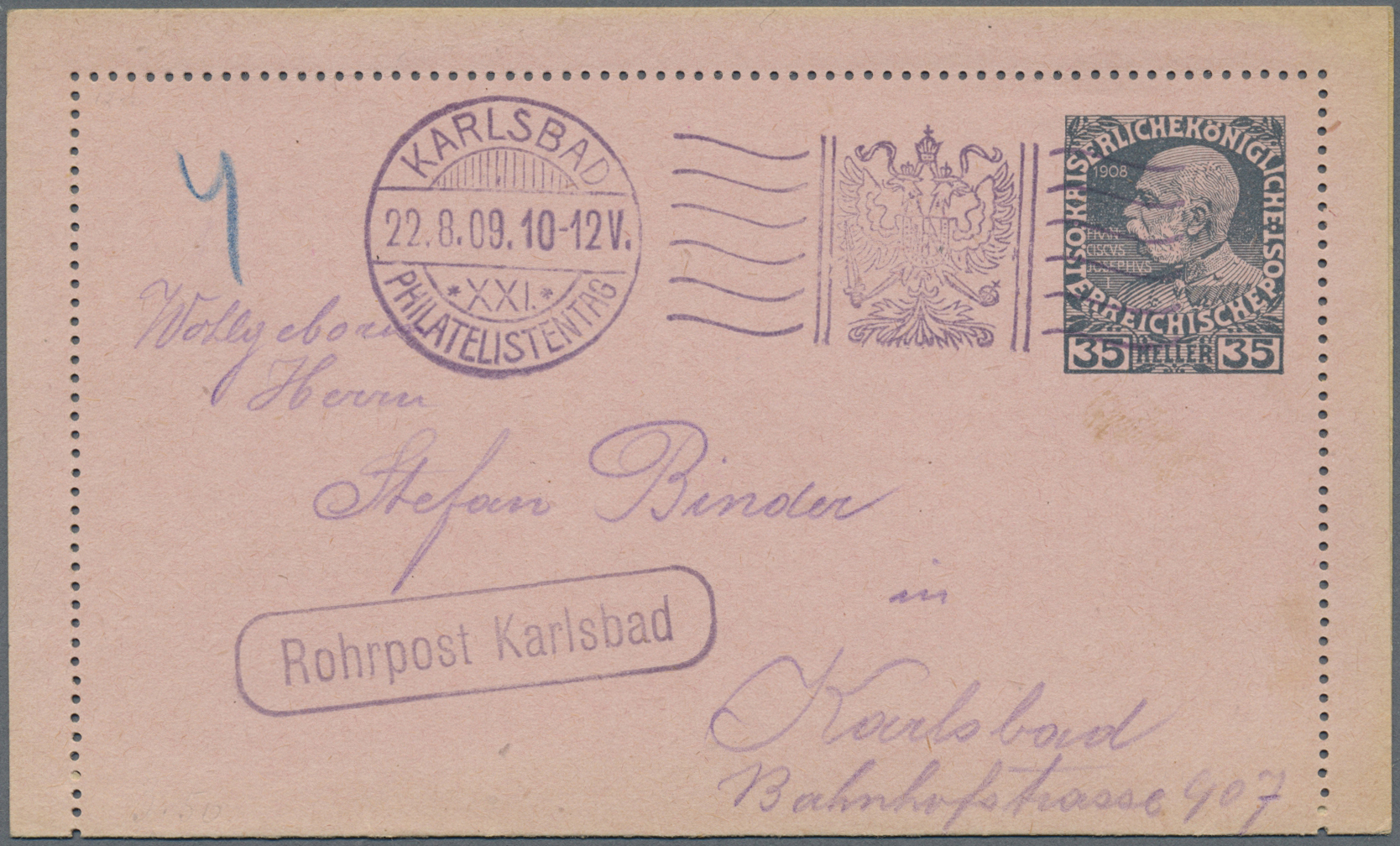 Lot 18238 - österreich - ganzsachen  -  Auktionshaus Christoph Gärtner GmbH & Co. KG Single lots Philately Overseas & Europe. Auction #39 Day 4