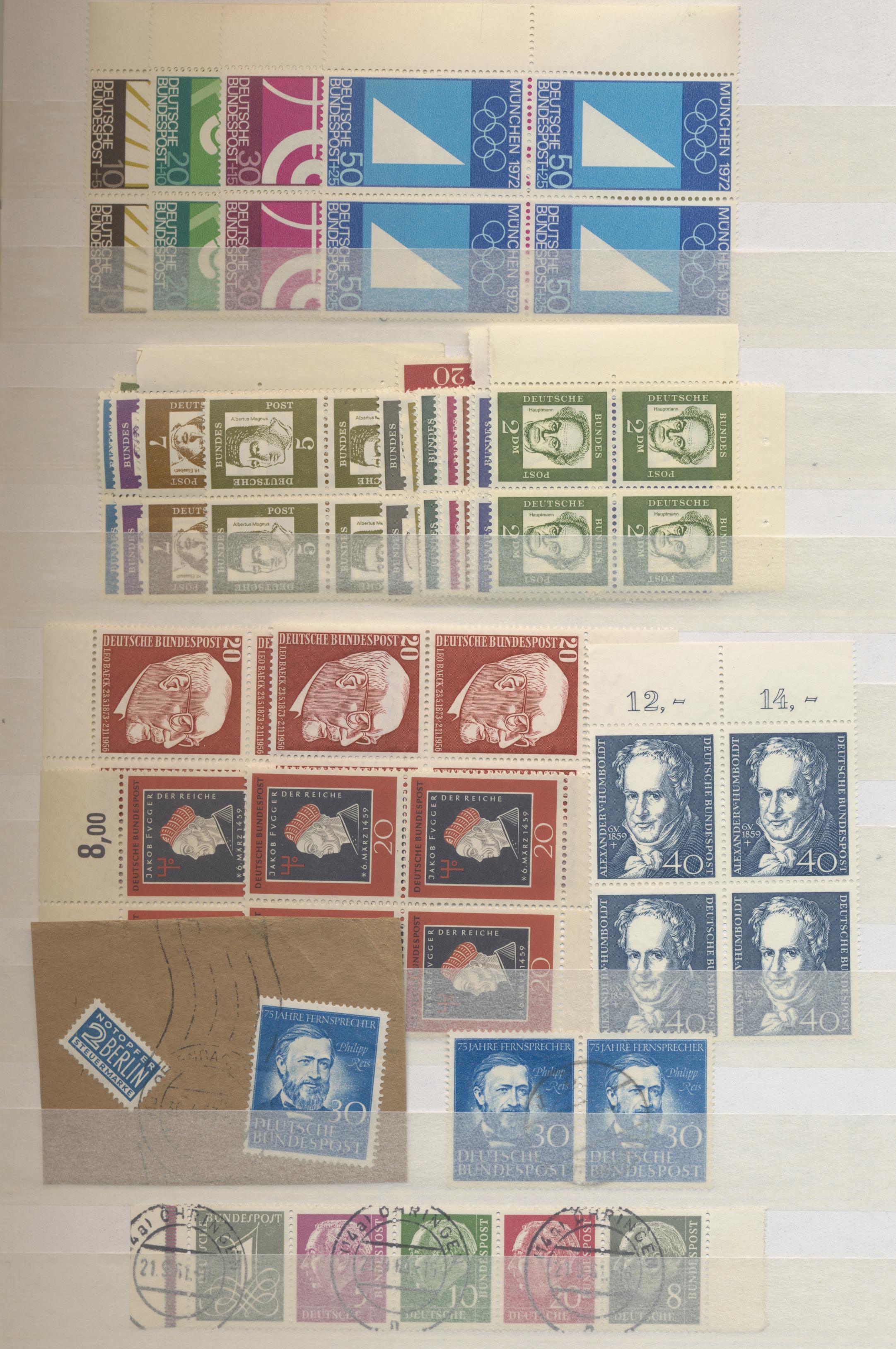Lot 37217 - deutschland nach 1945  -  Auktionshaus Christoph Gärtner GmbH & Co. KG Sale #44 Collections Germany