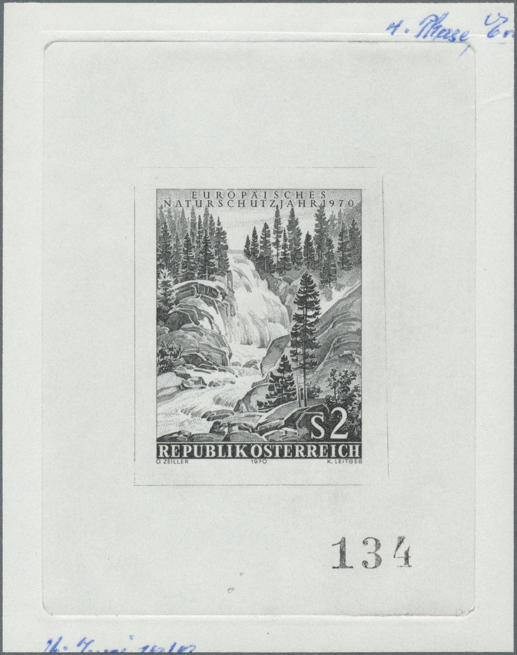 Lot 12864 - thematik: wasserfälle / waterfalls  -  Auktionshaus Christoph Gärtner GmbH & Co. KG Single lots Philately Overseas & Europe. Auction #39 Day 4