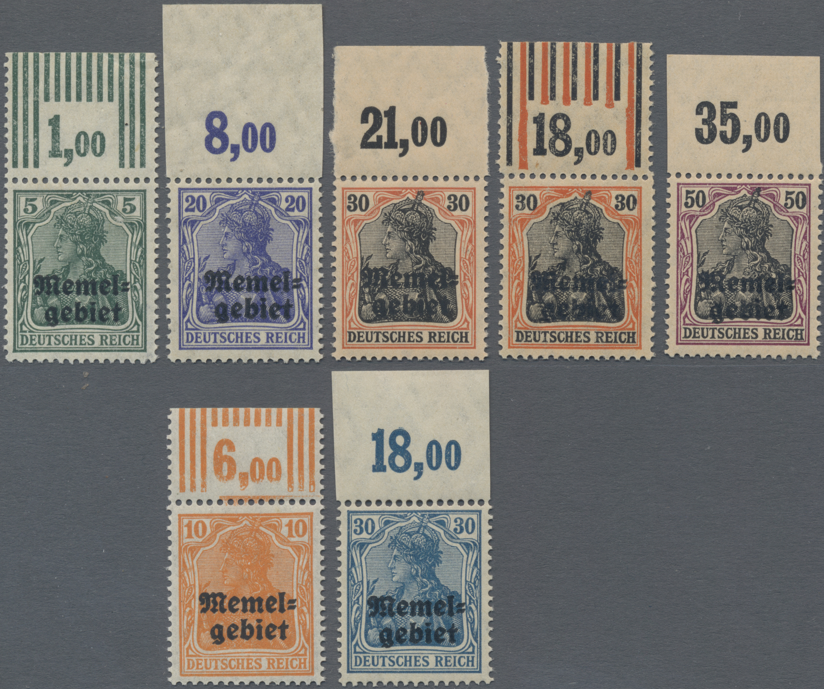 Lot 01000 - Memel  -  Auktionshaus Christoph Gärtner GmbH & Co. KG 50th Auction Anniversary Auction - Day 3