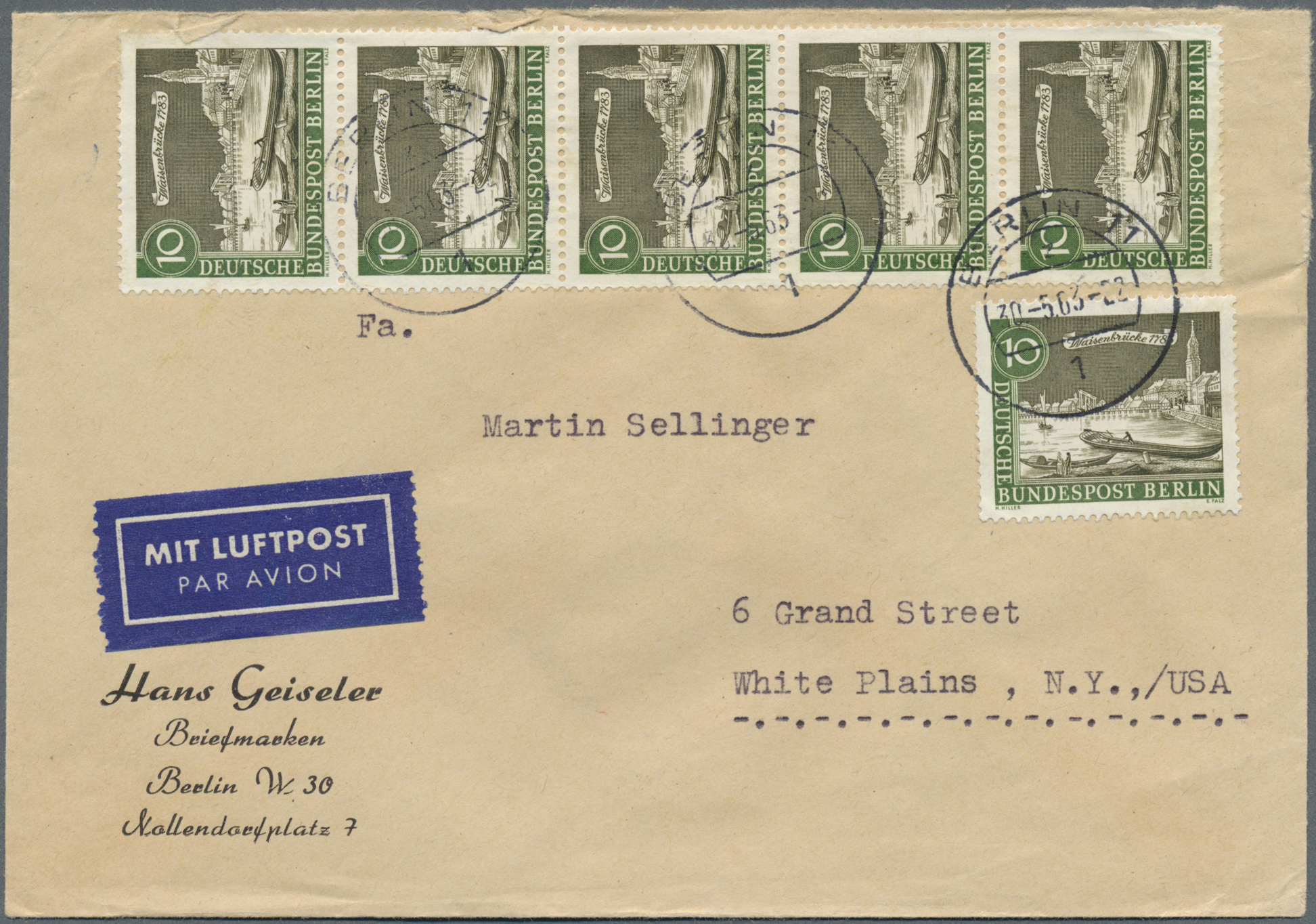 Lot 35055 - bundesrepublik und berlin  -  Auktionshaus Christoph Gärtner GmbH & Co. KG Collections Germany,  Collections Supplement, Surprise boxes #39 Day 7