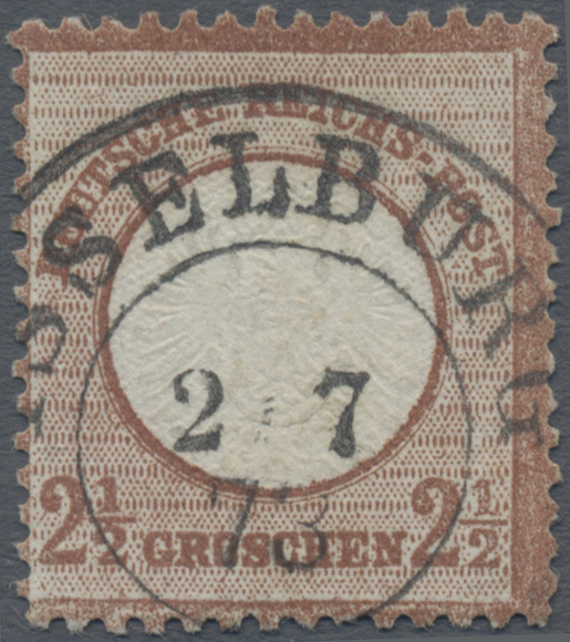 Lot 11320 - Deutsches Reich - Brustschild  -  Auktionshaus Christoph Gärtner GmbH & Co. KG 50th Auction Anniversary Auction - Day 4