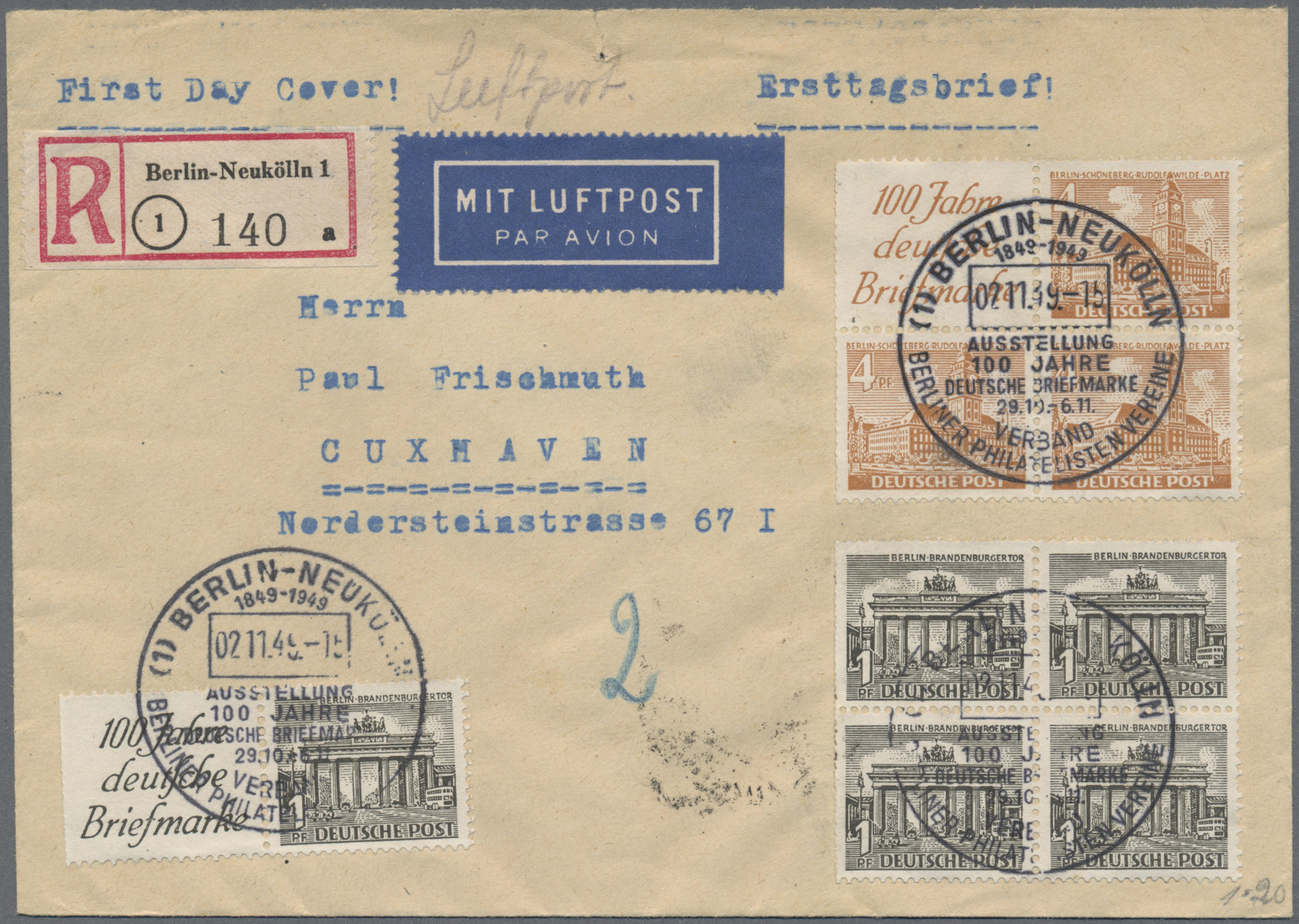 Lot 34141 - nachlässe  -  Auktionshaus Christoph Gärtner GmbH & Co. KG Collections Germany,  Collections Supplement, Surprise boxes #39 Day 7