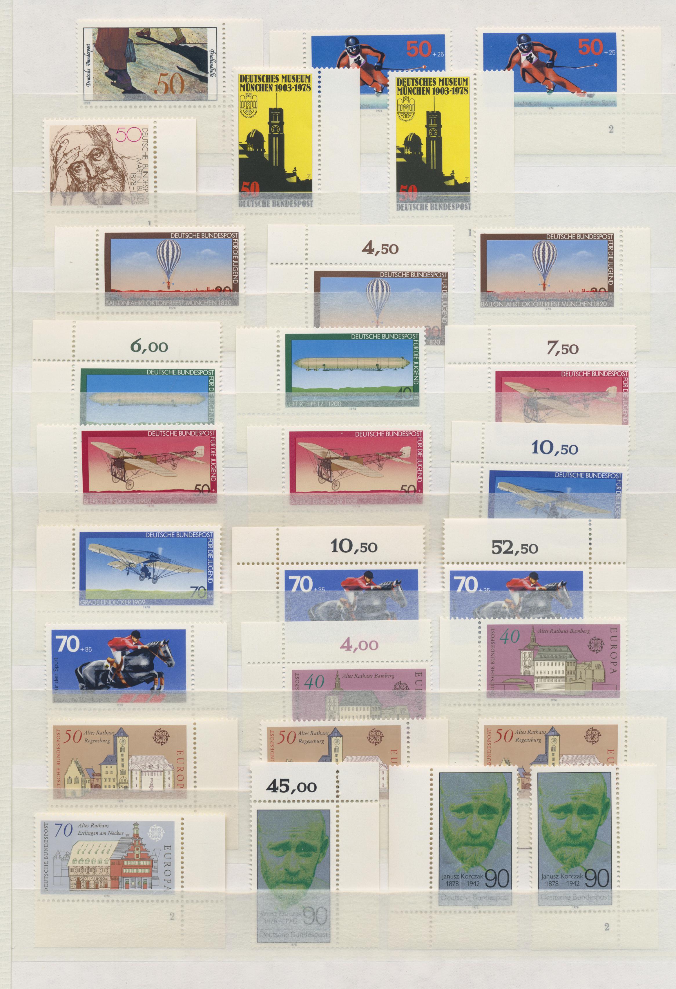 Lot 29550 - bundesrepublik deutschland  -  Auktionshaus Christoph Gärtner GmbH & Co. KG Sale #46 Gollcetions Germany - including the suplement