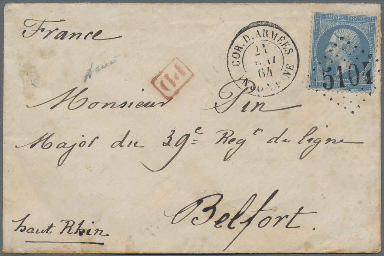 Lot 05780 - China - Fremde Postanstalten / Foreign Offices  -  Auktionshaus Christoph Gärtner GmbH & Co. KG Sale #46 Special Auction China - including Liberated Areas