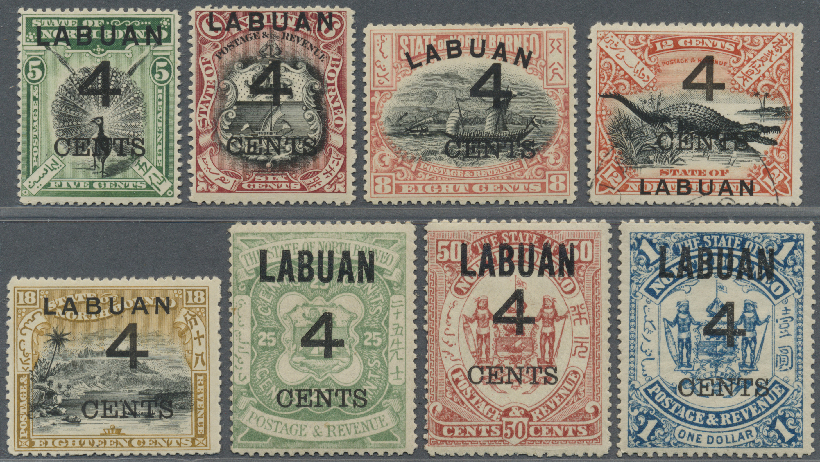 Lot 34560 - Labuan  -  Auktionshaus Christoph Gärtner GmbH & Co. KG Collections Germany,  Collections Supplement, Surprise boxes #39 Day 7