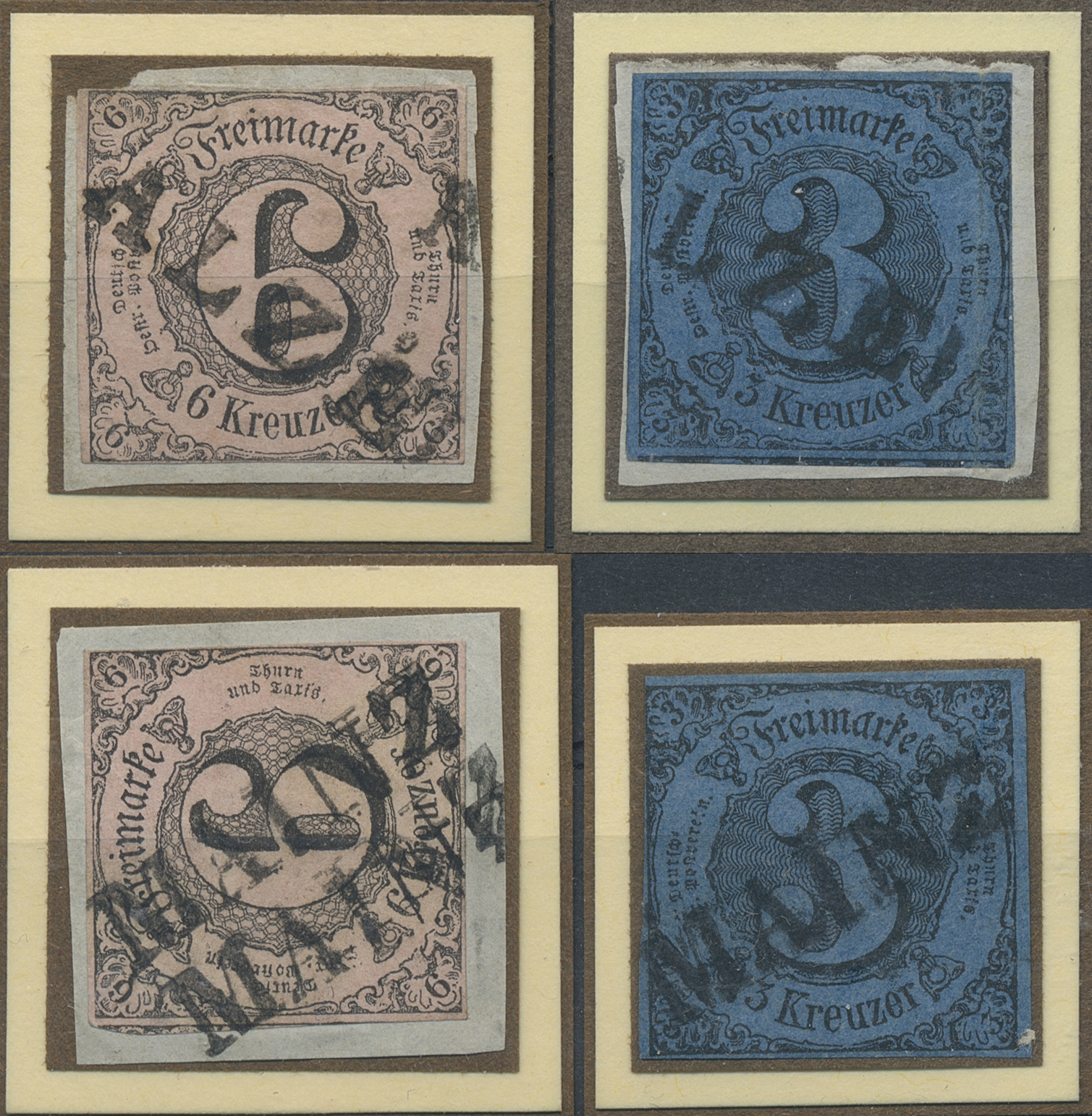 Lot 36302 - Thurn & Taxis - Marken und Briefe  -  Auktionshaus Christoph Gärtner GmbH & Co. KG Sale #44 Collections Germany