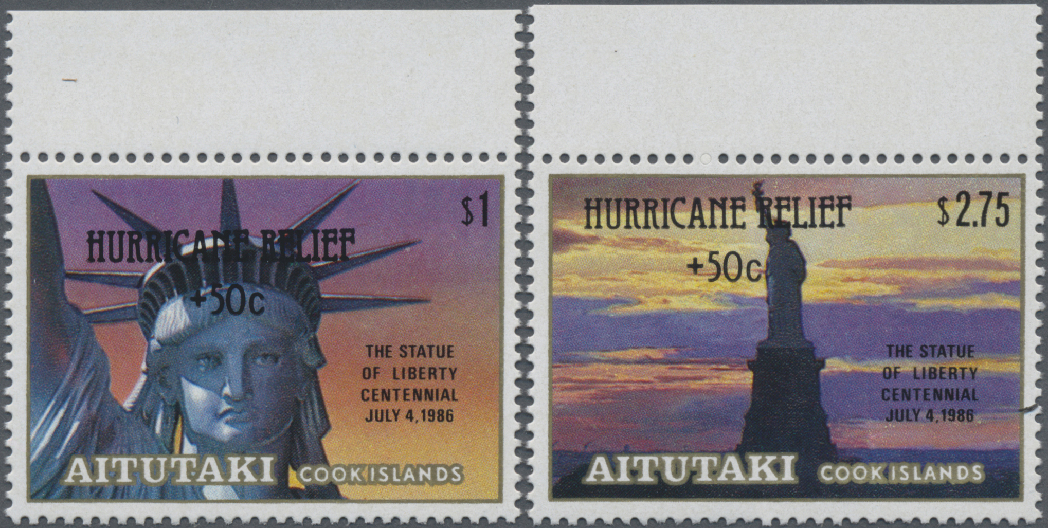 Lot 15905 - Thematik: Sehenswürdigkeiten-Freiheitsstatue / sights- statue of liberty  -  Auktionshaus Christoph Gärtner GmbH & Co. KG Sale #48 collections Overseas  Airmail / Ship mail & Thematics