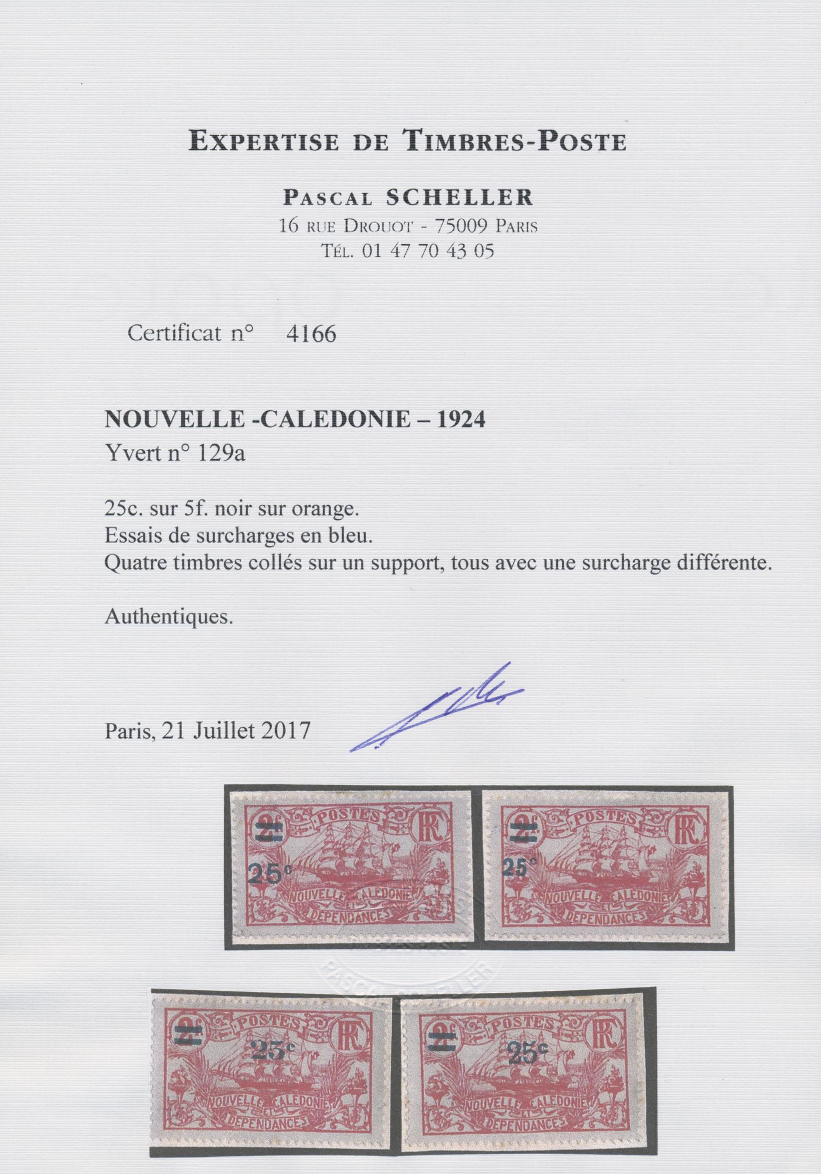 Lot 10038 - neukaledonien  -  Auktionshaus Christoph Gärtner GmbH & Co. KG Sale #46 Single lots Asia, Thematics, Overseas, Europe …