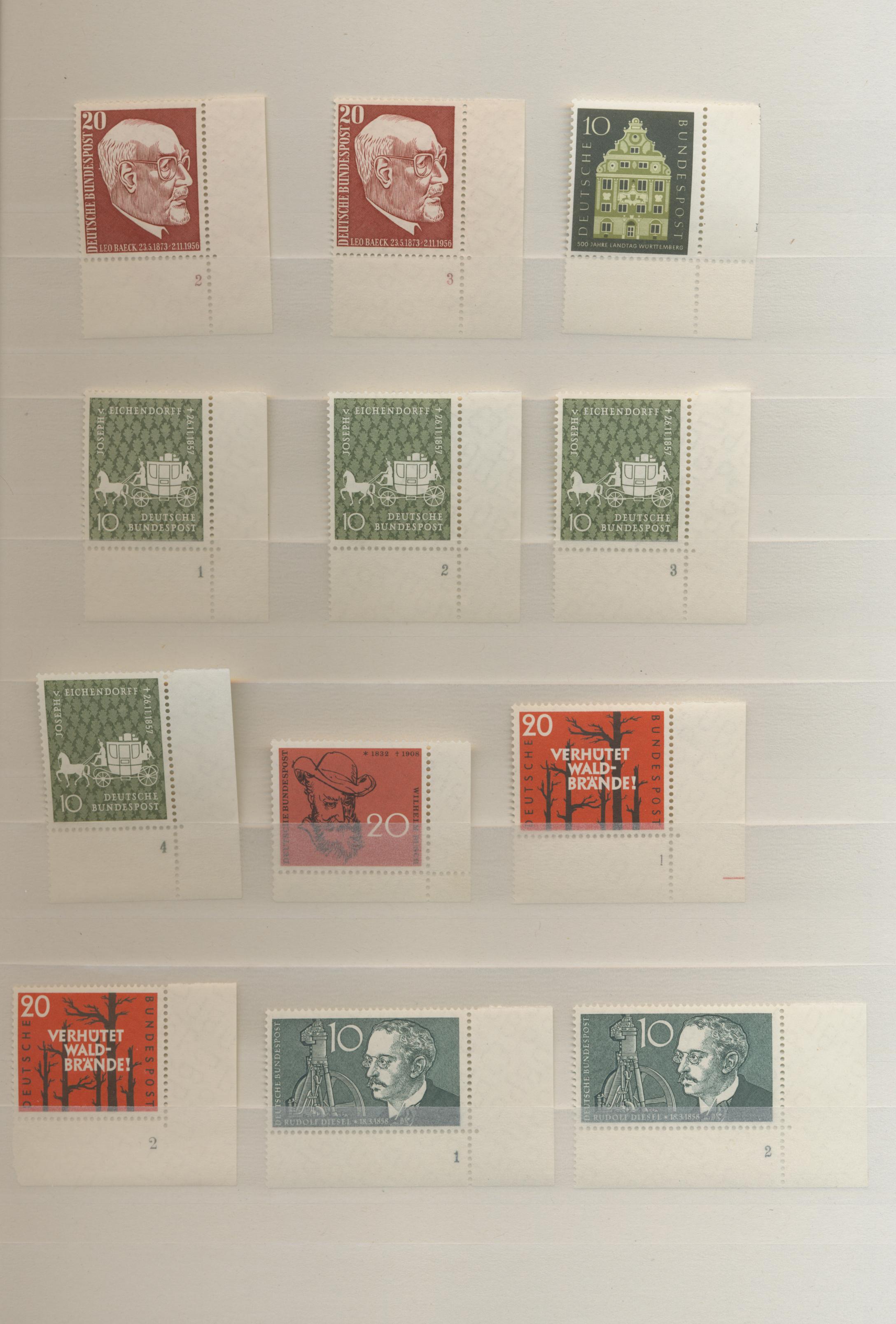Lot 33574 - bundesrepublik deutschland  -  Auktionshaus Christoph Gärtner GmbH & Co. KG Sale #45- Collections Germany