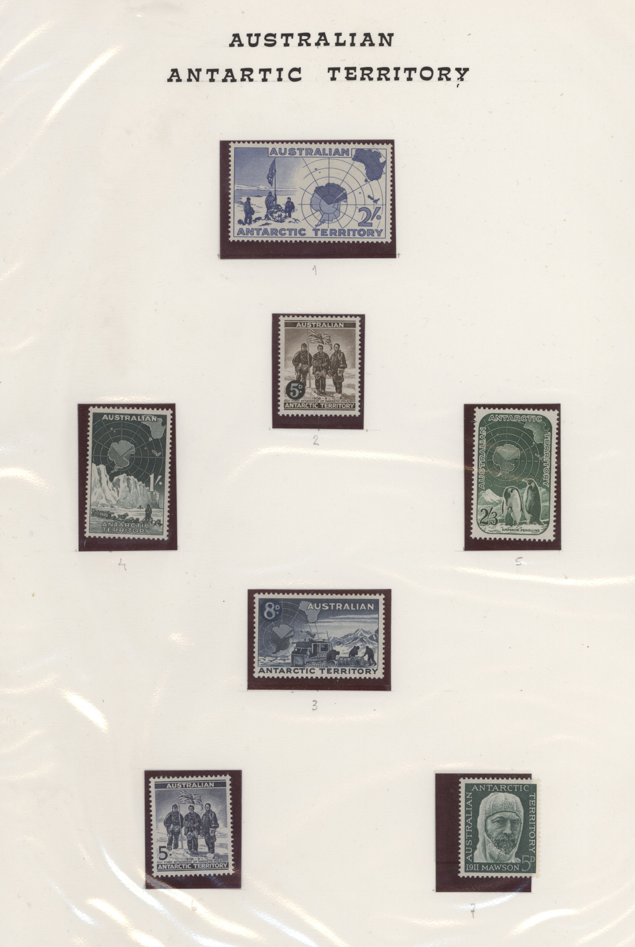 Lot 06216 - thematik: antarktis / antarctic  -  Auktionshaus Christoph Gärtner GmbH & Co. KG Special Auction 26.- 28. May 2020 Day 3 Collections - Thematics and Picture Post Cards