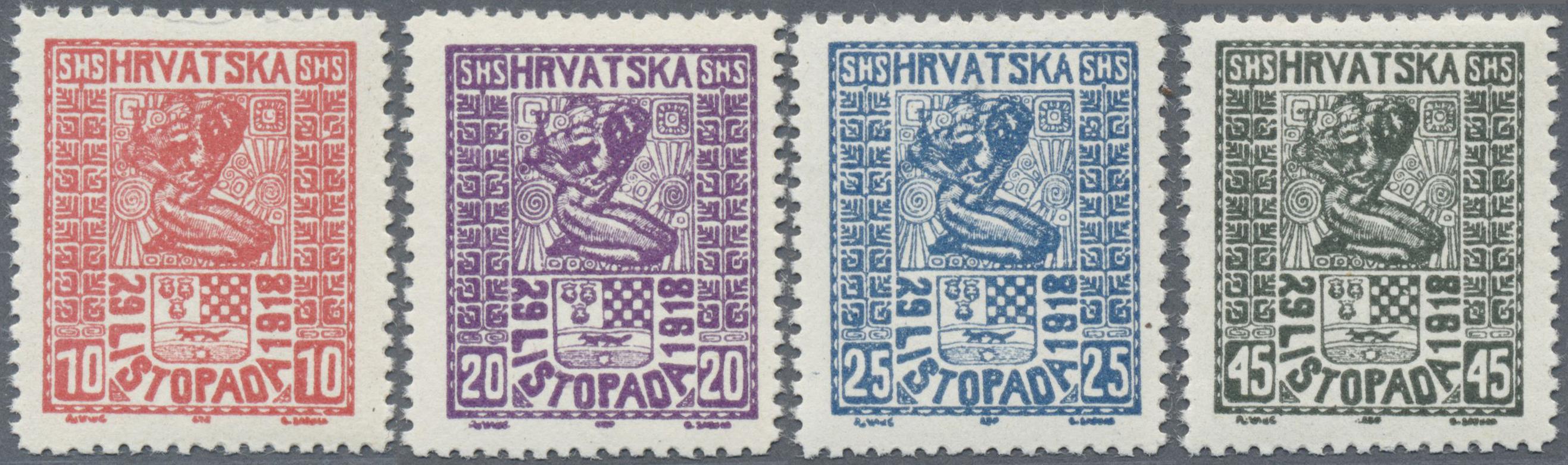 Lot 17231 - jugoslawien  -  Auktionshaus Christoph Gärtner GmbH & Co. KG Single lots Philately Overseas & Europe. Auction #39 Day 4