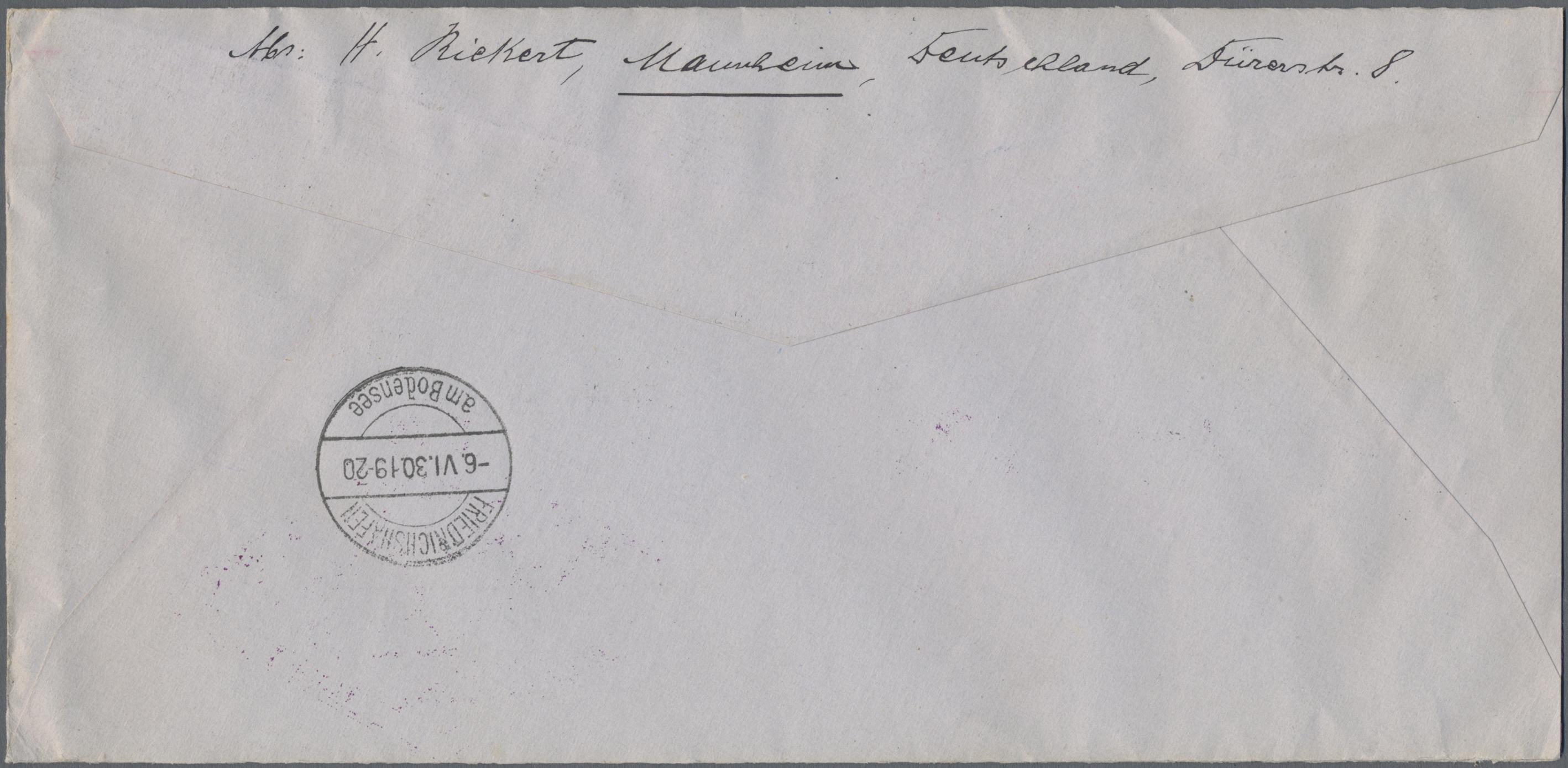 Lot 21931 - Deutsches Reich - Weimar  -  Auktionshaus Christoph Gärtner GmbH & Co. KG Sale #44 Germany, Picture Post cards