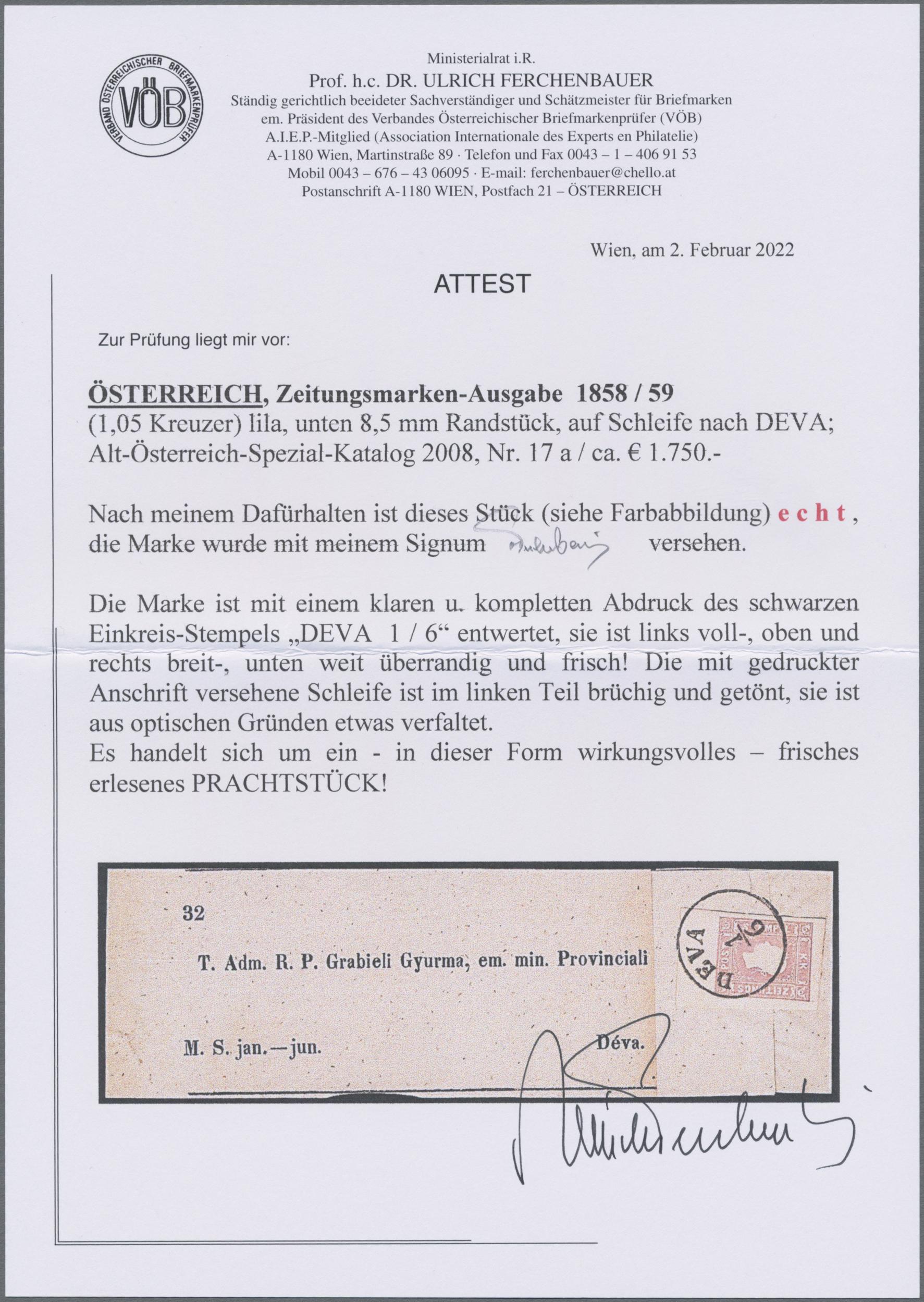 Christoph Gärtner Philatelic Sale 43 Page 429