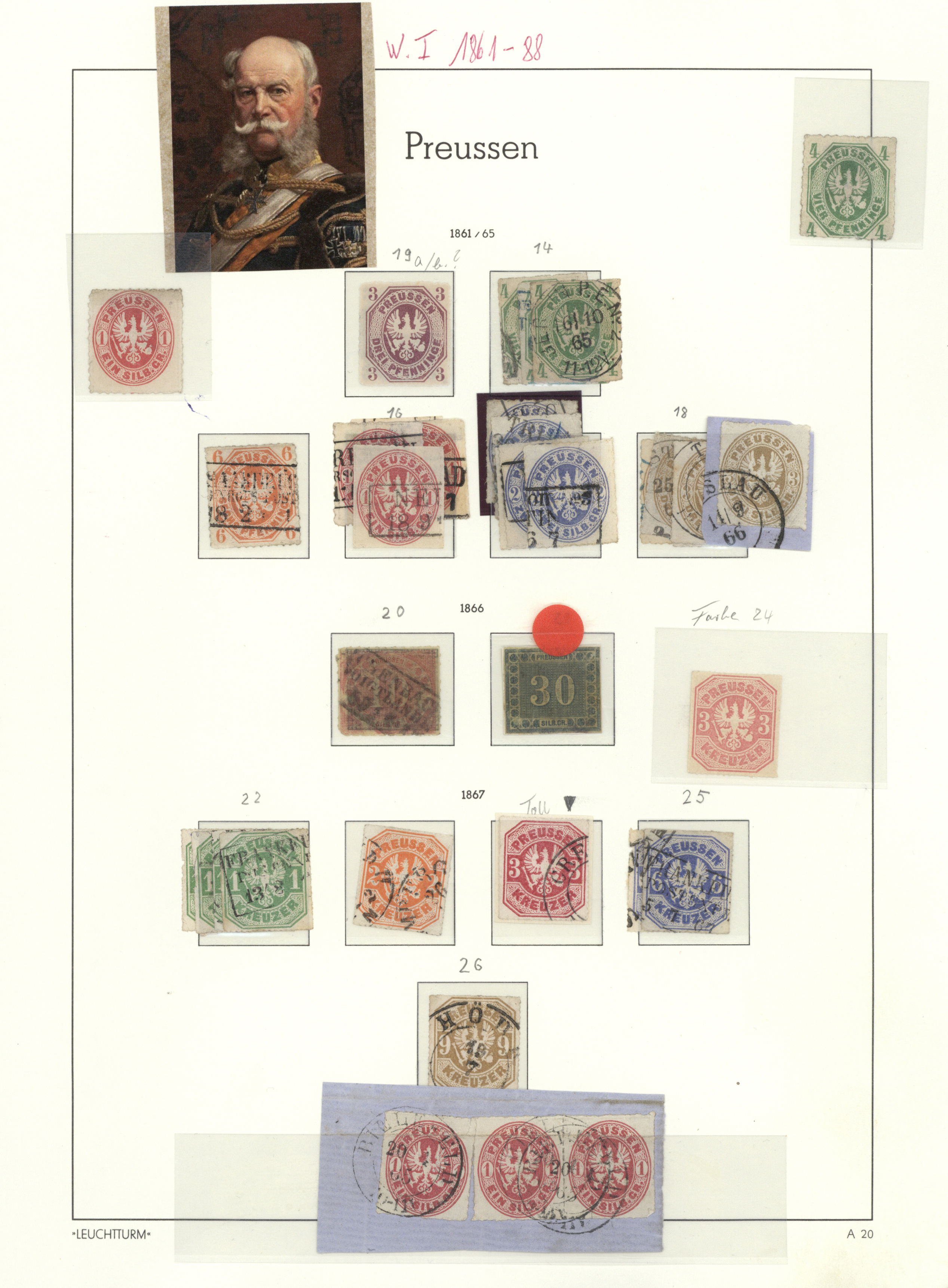 Lot 36437 - Preußen - Marken und Briefe  -  Auktionshaus Christoph Gärtner GmbH & Co. KG Collections Germany,  Collections Supplement, Surprise boxes #39 Day 7