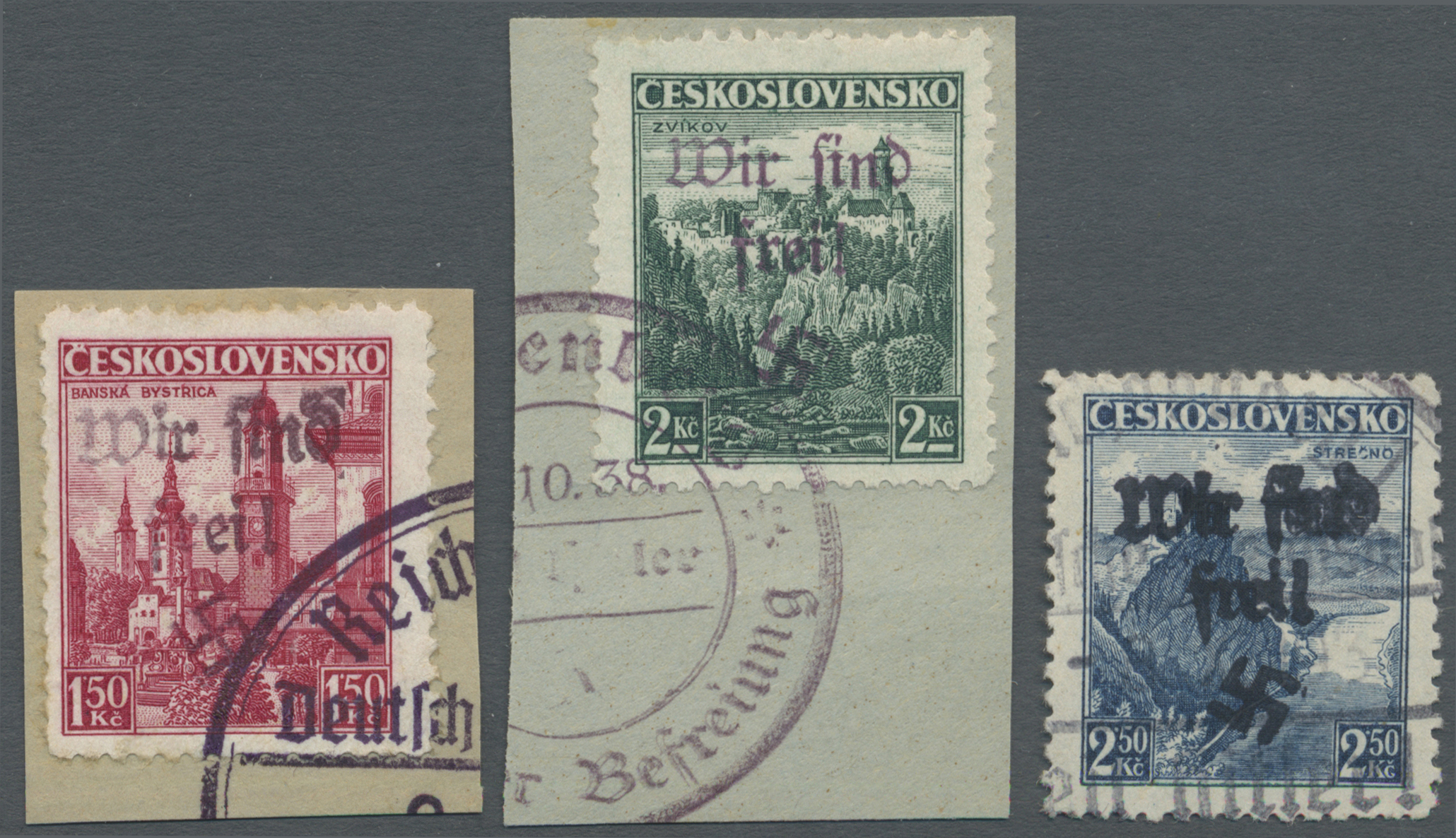 Lot 23092 - Sudetenland - Reichenberg  -  Auktionshaus Christoph Gärtner GmbH & Co. KG Single lots Germany + Picture Postcards. Auction #39 Day 5