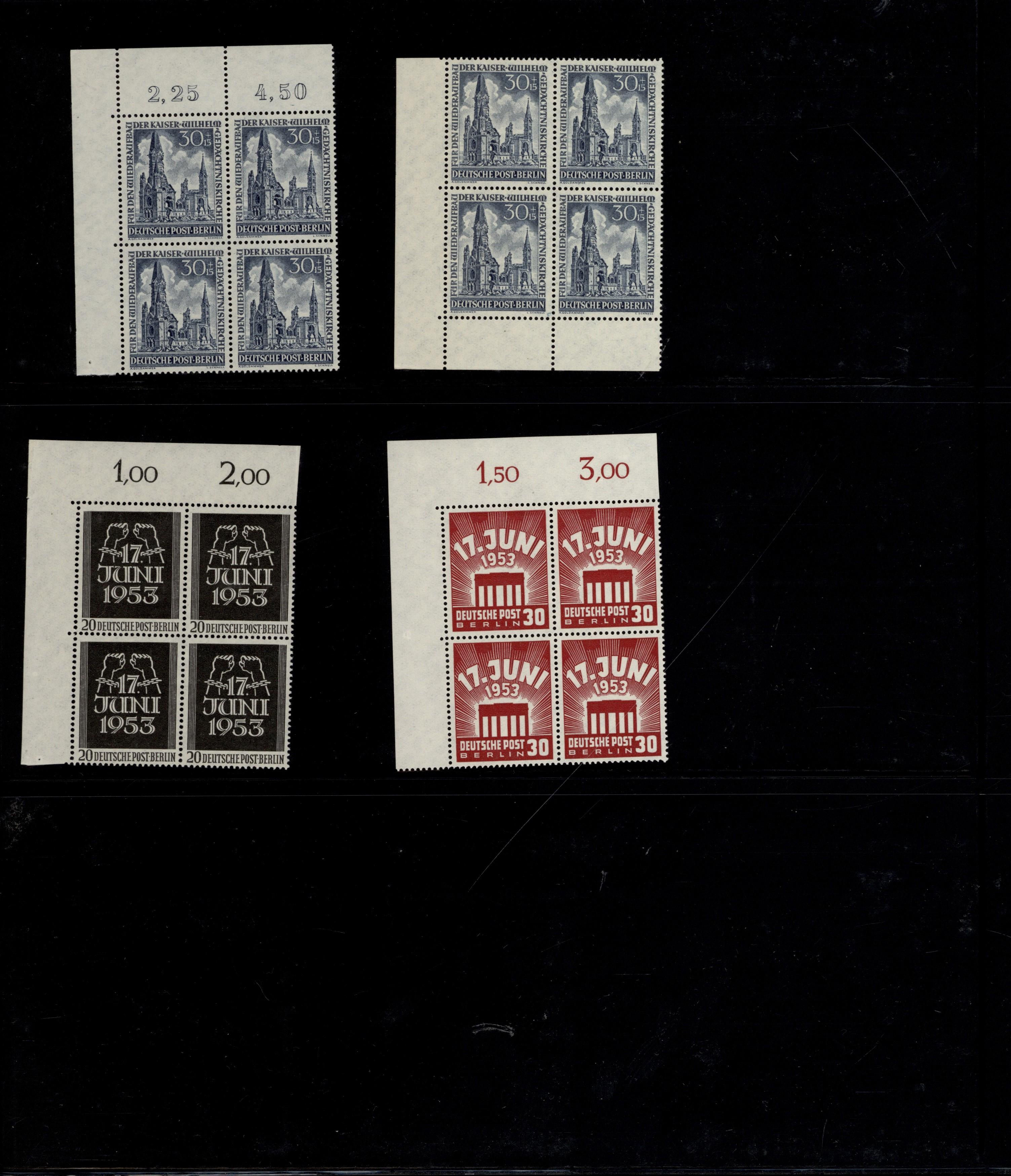 Lot 38094 - bundesrepublik und berlin  -  Auktionshaus Christoph Gärtner GmbH & Co. KG Collections Germany,  Collections Supplement, Surprise boxes #39 Day 7