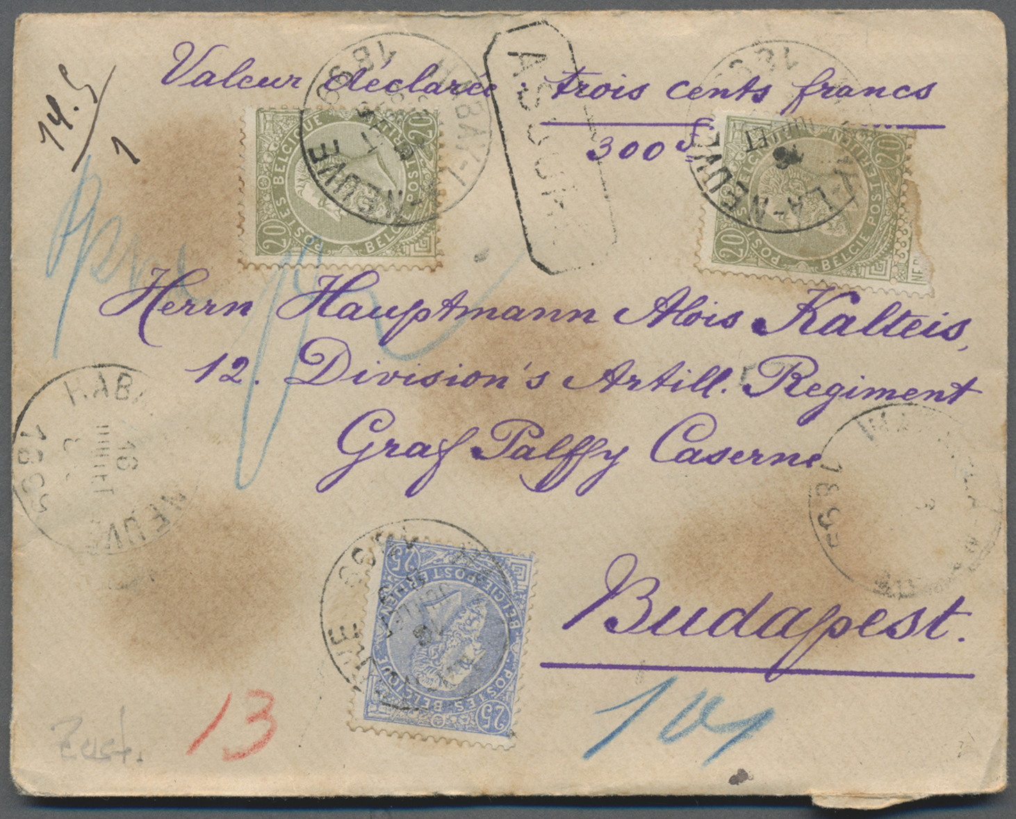 Lot 26191 - nachlässe  -  Auktionshaus Christoph Gärtner GmbH & Co. KG Sale #46 Gollcetions Germany - including the suplement