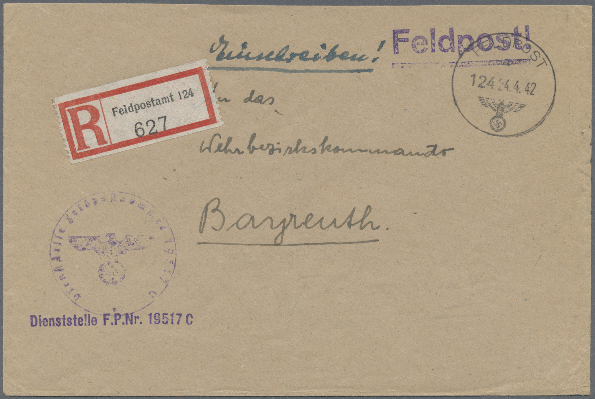 Lot 32050 - feldpost 2. weltkrieg  -  Auktionshaus Christoph Gärtner GmbH & Co. KG Auction #40 Collections Germany, Wunderkartons