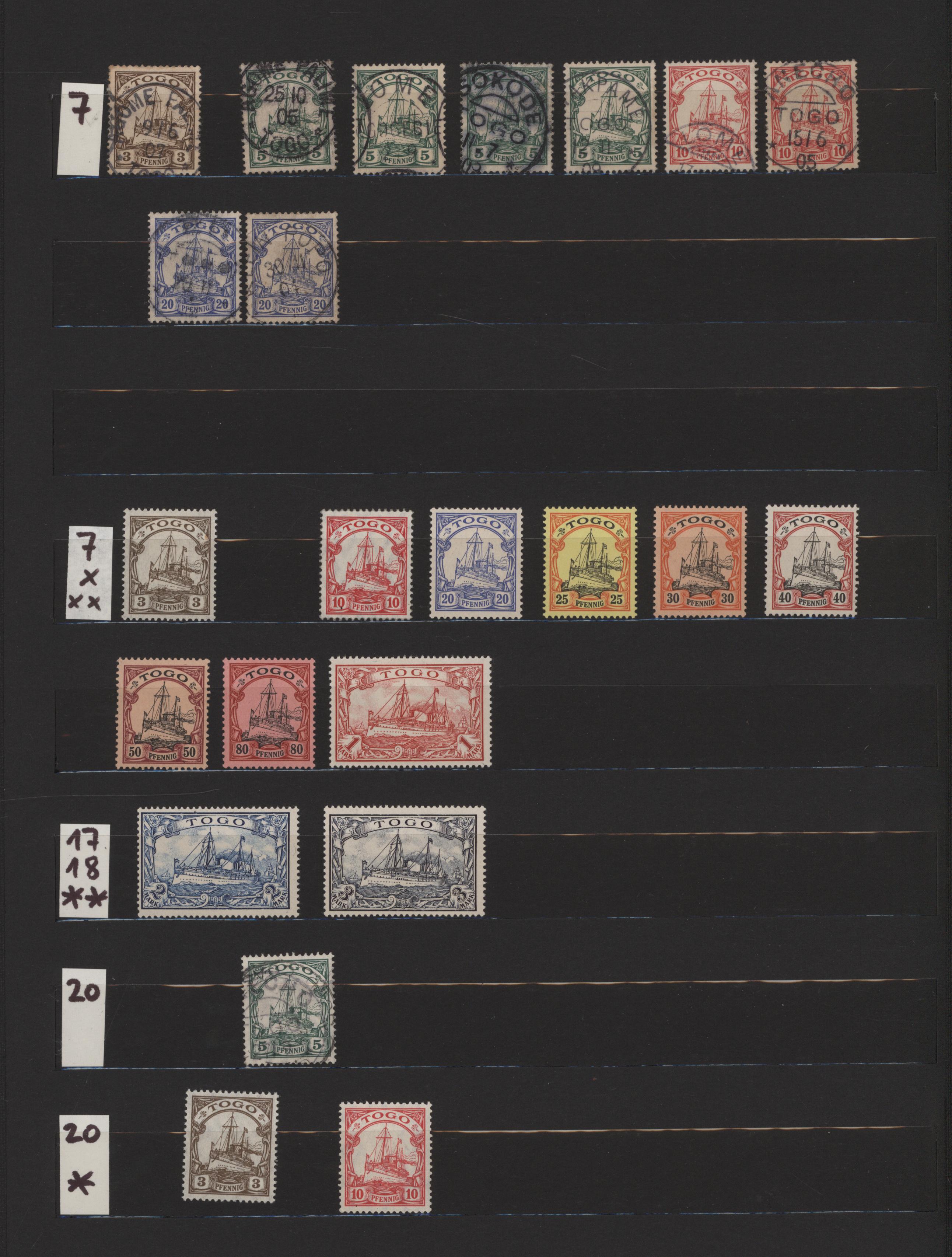 Lot 23503 - Deutsche Auslandspostämter + Kolonien  -  Auktionshaus Christoph Gärtner GmbH & Co. KG 50th Auction Anniversary Auction - Day 7