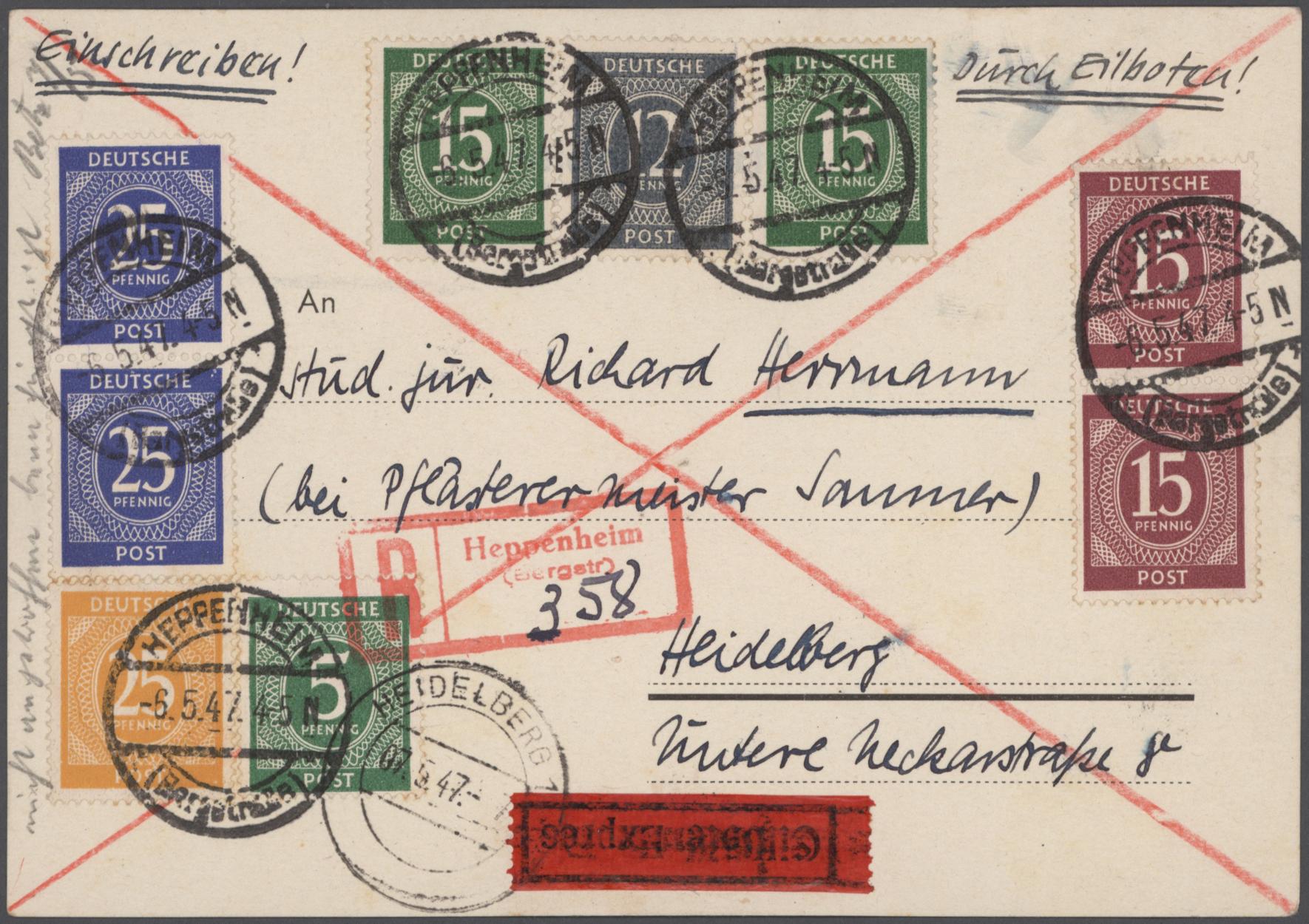 Lot 26218 - nachlässe  -  Auktionshaus Christoph Gärtner GmbH & Co. KG Sale #46 Gollcetions Germany - including the suplement