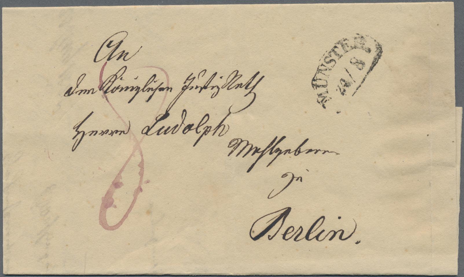 Lot 22869 - Preußen - Vorphila   Markenlose Briefe  -  Auktionshaus Christoph Gärtner GmbH & Co. KG 50th Auction Anniversary Auction - Day 7
