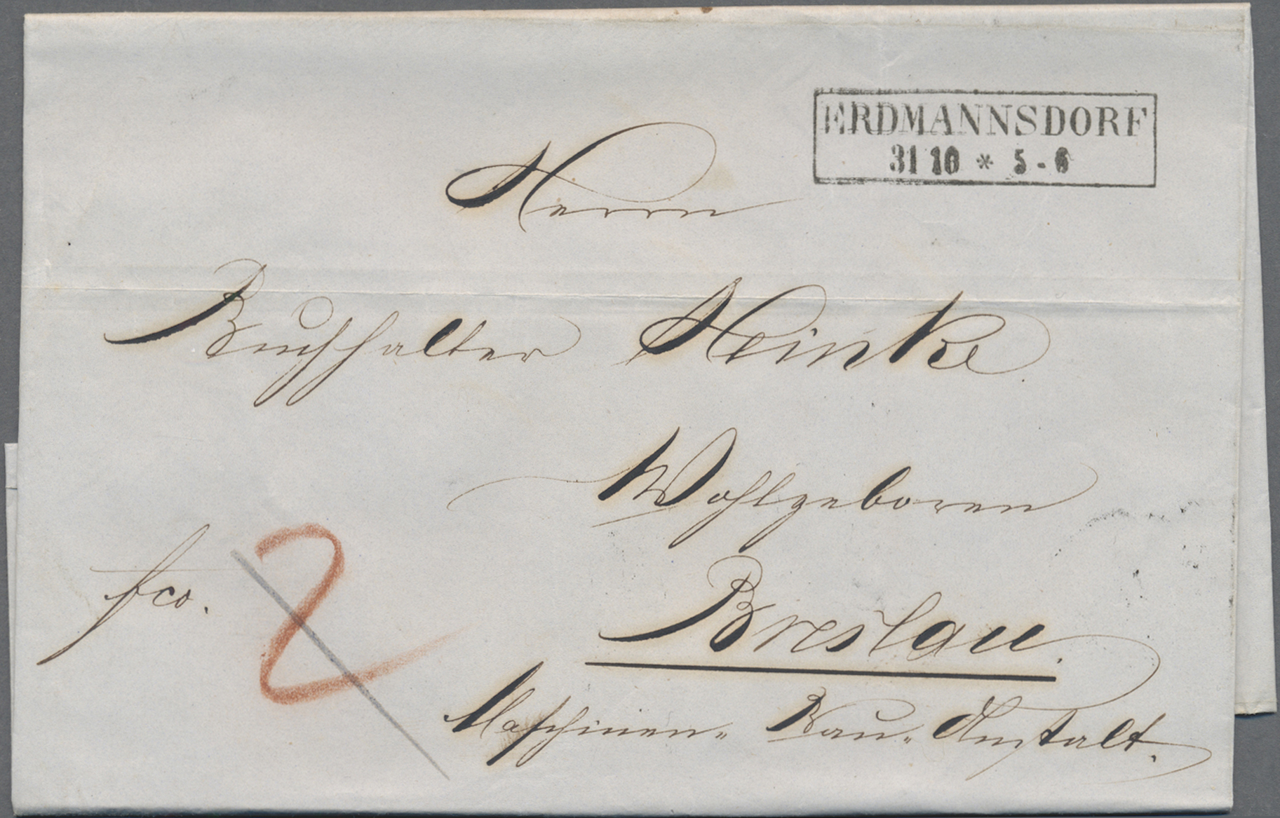 Lot 22870 - Preußen - Vorphila | Markenlose Briefe  -  Auktionshaus Christoph Gärtner GmbH & Co. KG 50th Auction Anniversary Auction - Day 7