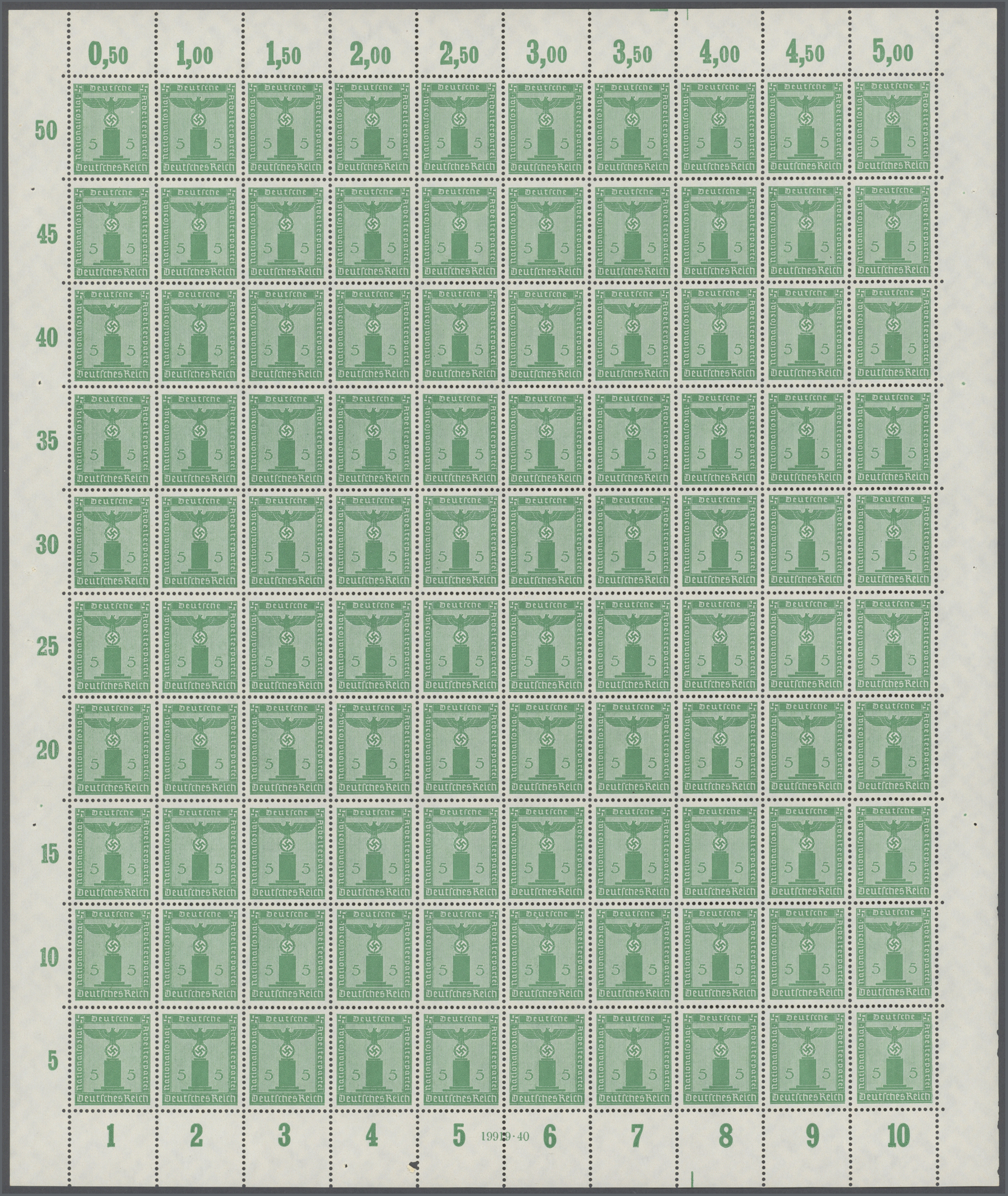 Lot 37063 - Deutsches Reich - Dienstmarken  -  Auktionshaus Christoph Gärtner GmbH & Co. KG Collections Germany,  Collections Supplement, Surprise boxes #39 Day 7