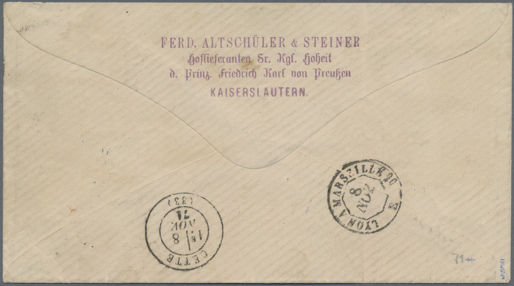 Lot 13570 - Bayern - Marken und Briefe  -  Auktionshaus Christoph Gärtner GmbH & Co. KG Sale #46 Single lots Germany - and picture post cards