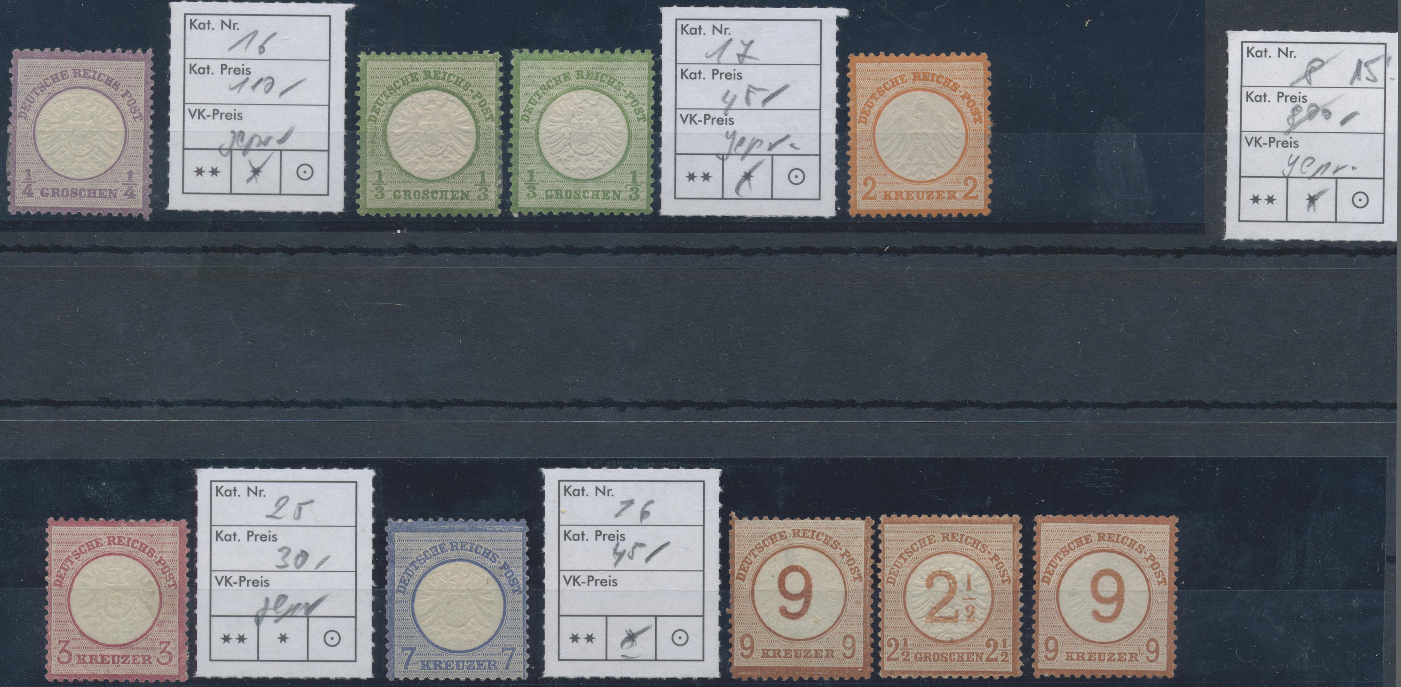 Lot 23112 - Deutsches Reich  -  Auktionshaus Christoph Gärtner GmbH & Co. KG 50th Auction Anniversary Auction - Day 7