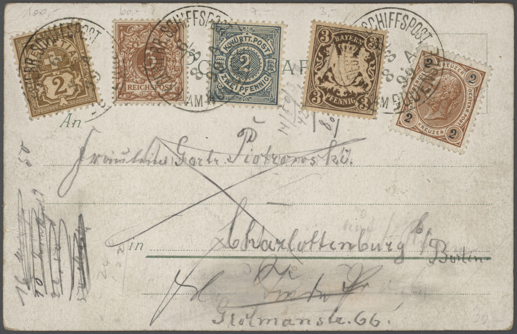 Lot 36005 - deutschland  -  Auktionshaus Christoph Gärtner GmbH & Co. KG Collections Germany,  Collections Supplement, Surprise boxes #39 Day 7