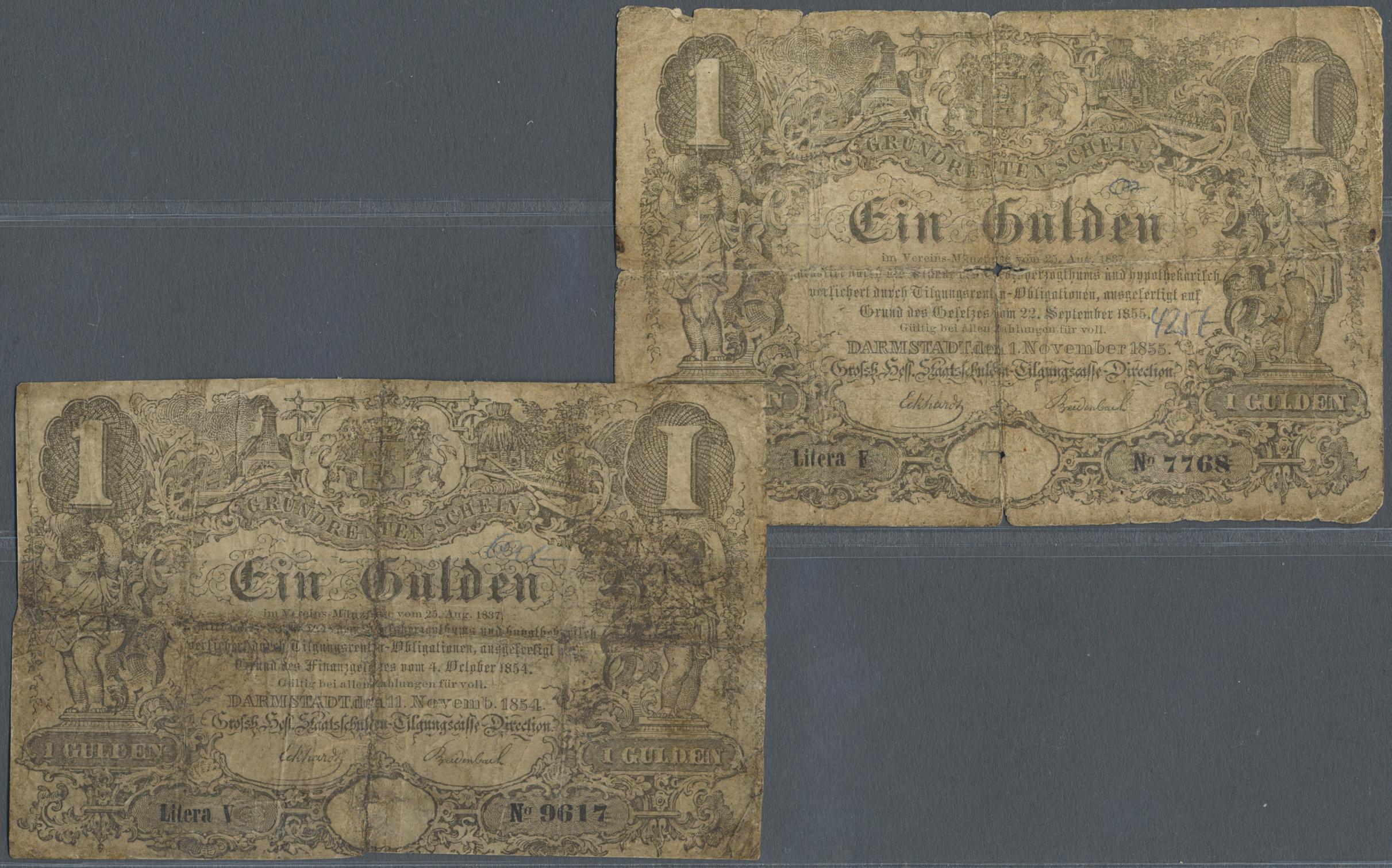 Lot 03301 - Deutschland - Altdeutsche Staaten | Banknoten  -  Auktionshaus Christoph Gärtner GmbH & Co. KG Sale #45 Banknotes Germany/Numismatics