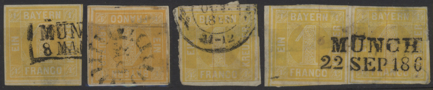 Lot 36160 - Bayern - Marken und Briefe  -  Auktionshaus Christoph Gärtner GmbH & Co. KG Sale #44 Collections Germany