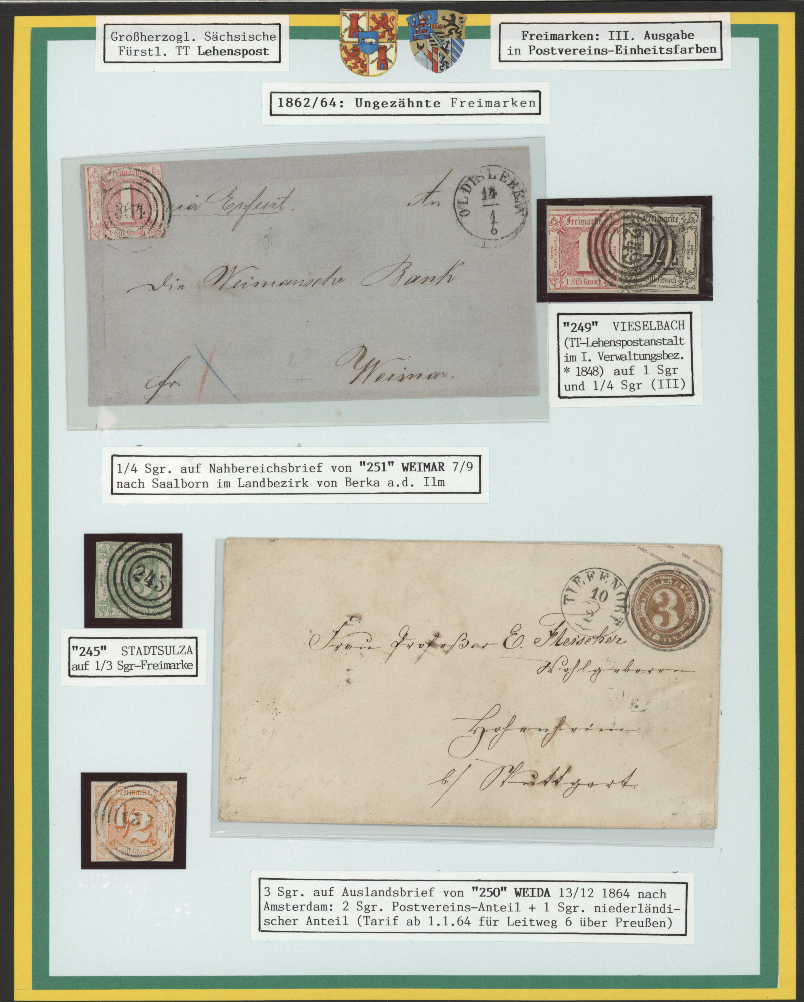 Lot 36297 - Thurn & Taxis - Marken und Briefe  -  Auktionshaus Christoph Gärtner GmbH & Co. KG Sale #44 Collections Germany