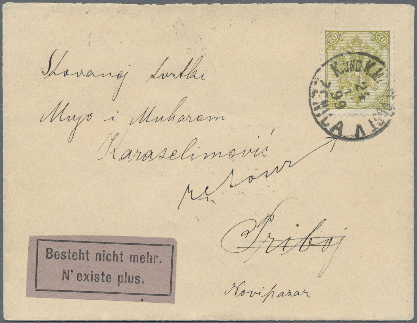 Lot 08274 - Bosnien und Herzegowina (Österreich 1879/1918)  -  Auktionshaus Christoph Gärtner GmbH & Co. KG Sale #48 The Single Lots Philatelie