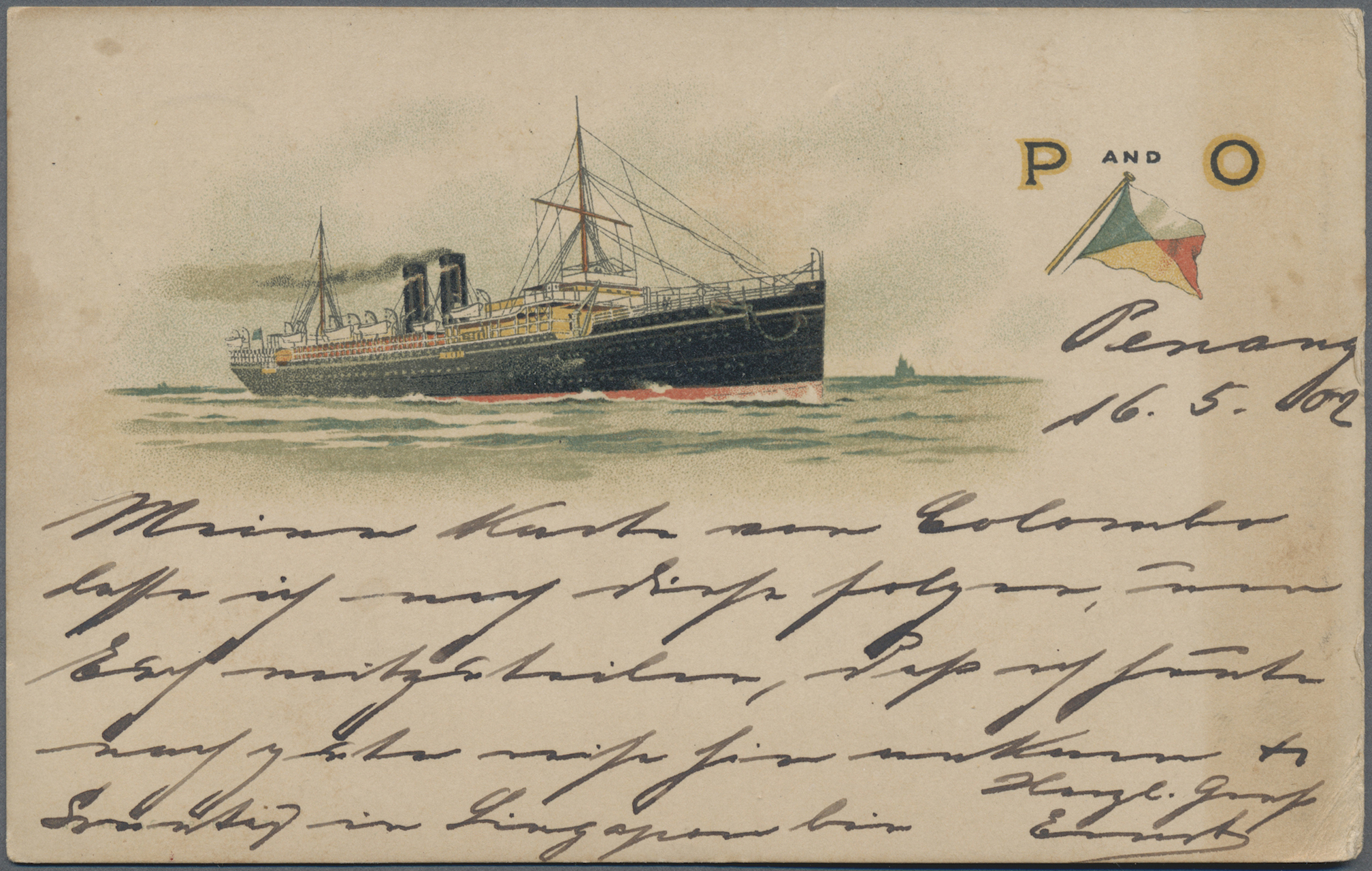 Lot 17959 - schiffspost alle welt  -  Auktionshaus Christoph Gärtner GmbH & Co. KG Sale #49 Collections Overseas, Thematics, Europe, Germany/Estates