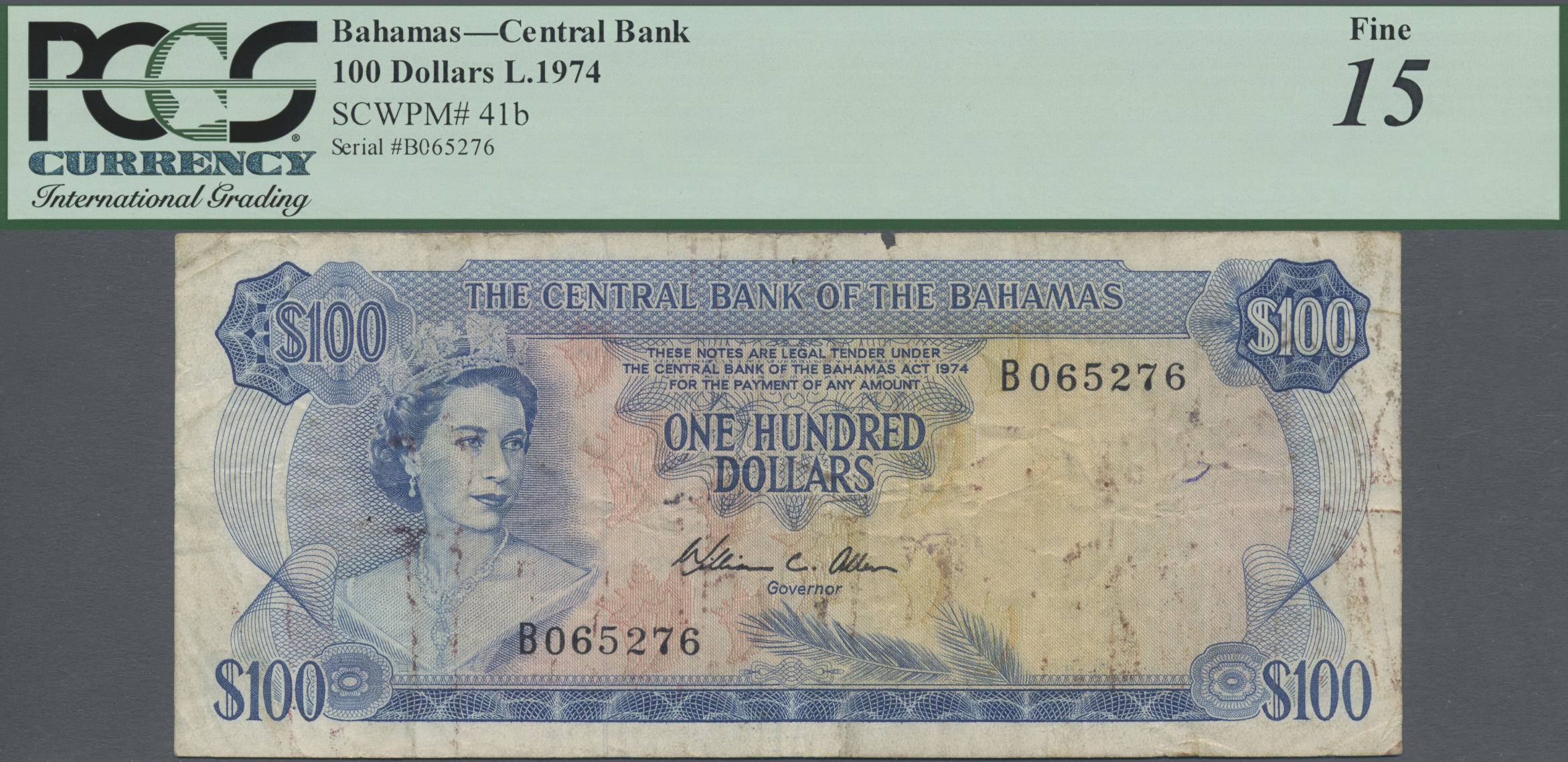 Lot 00057 - Bahamas | Banknoten  -  Auktionshaus Christoph Gärtner GmbH & Co. KG Sale #48 The Banknotes