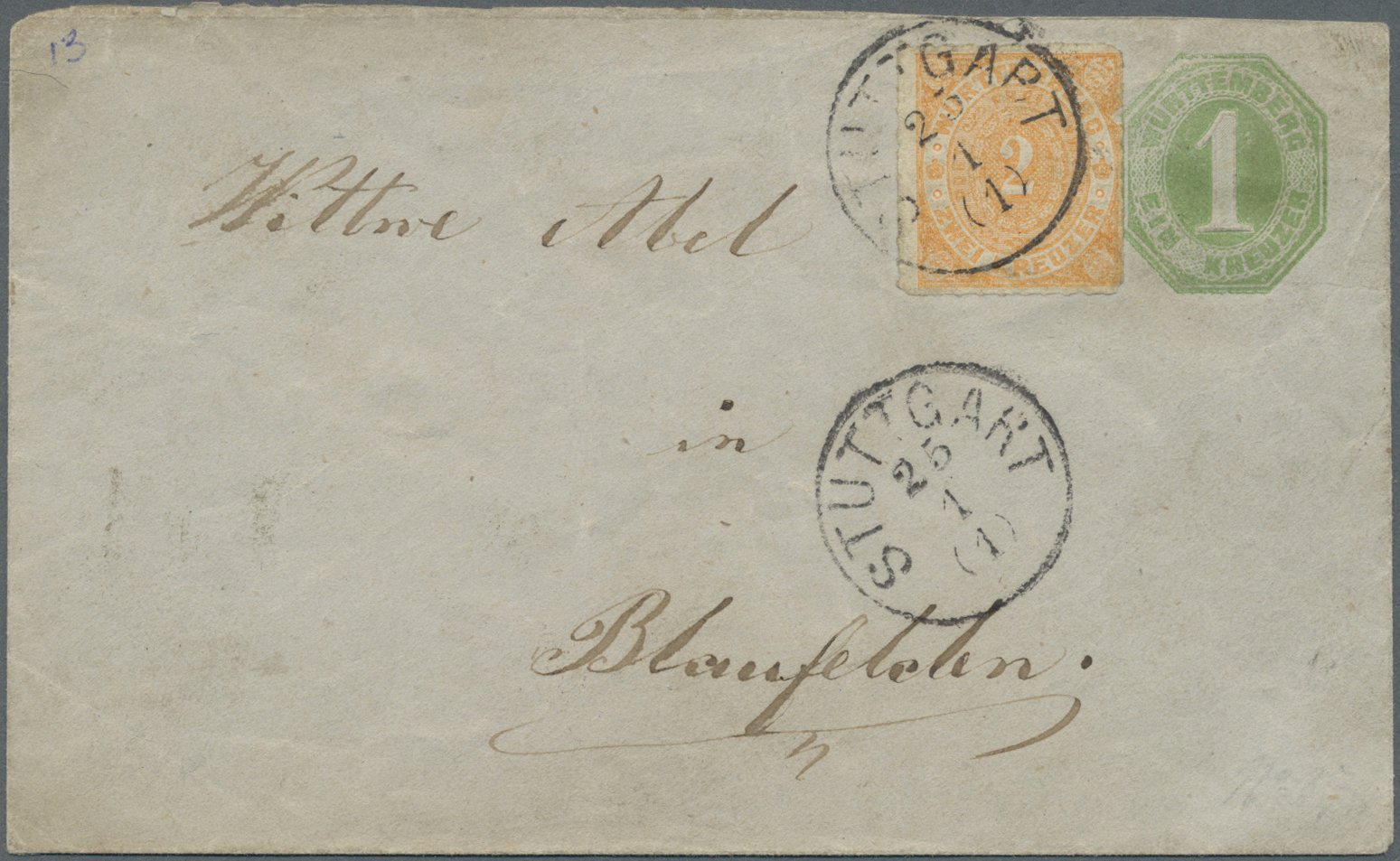Lot 17669 - württemberg - ganzsachen  -  Auktionshaus Christoph Gärtner GmbH & Co. KG Auction #40 Germany, Picture Post Cards, Collections Overseas, Thematics