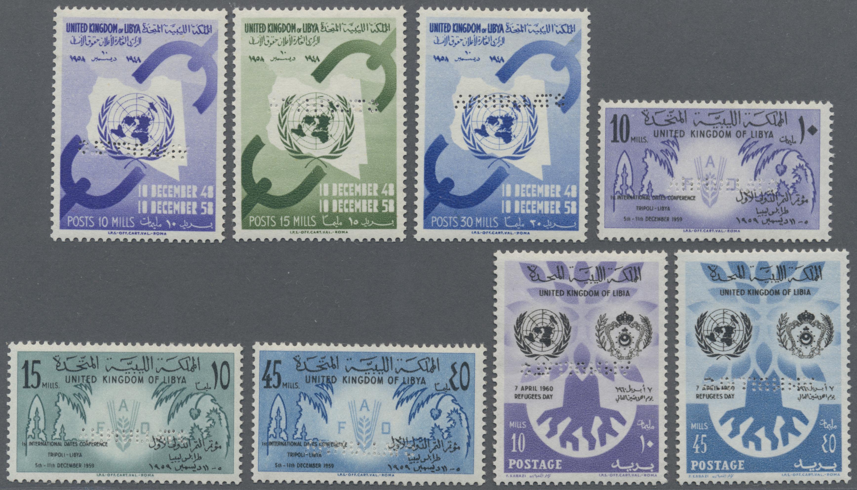 Lot 13975 - libyen  -  Auktionshaus Christoph Gärtner GmbH & Co. KG Single lots Philately Overseas & Europe. Auction #39 Day 4