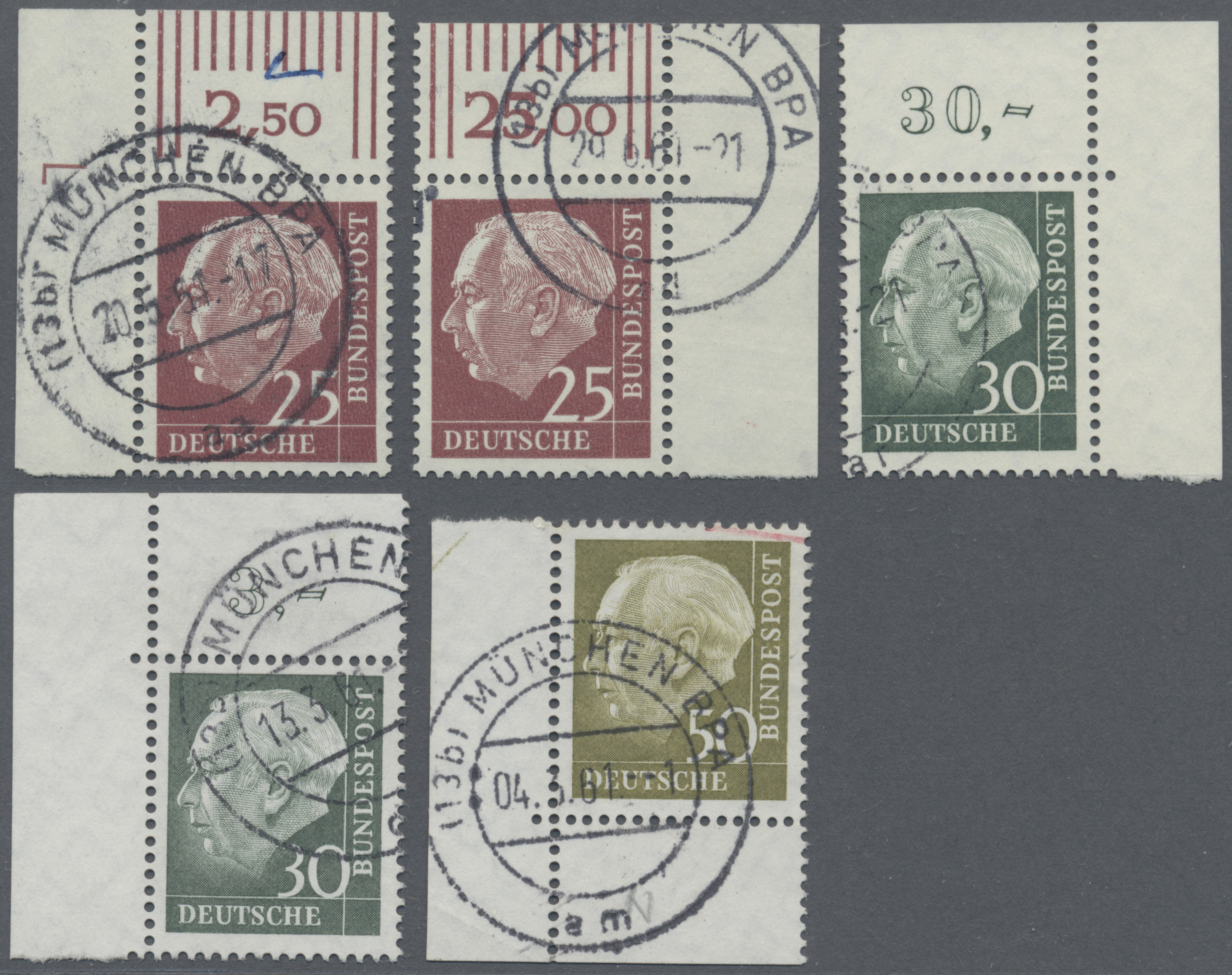 Lot 38435 - bundesrepublik deutschland  -  Auktionshaus Christoph Gärtner GmbH & Co. KG Collections Germany,  Collections Supplement, Surprise boxes #39 Day 7