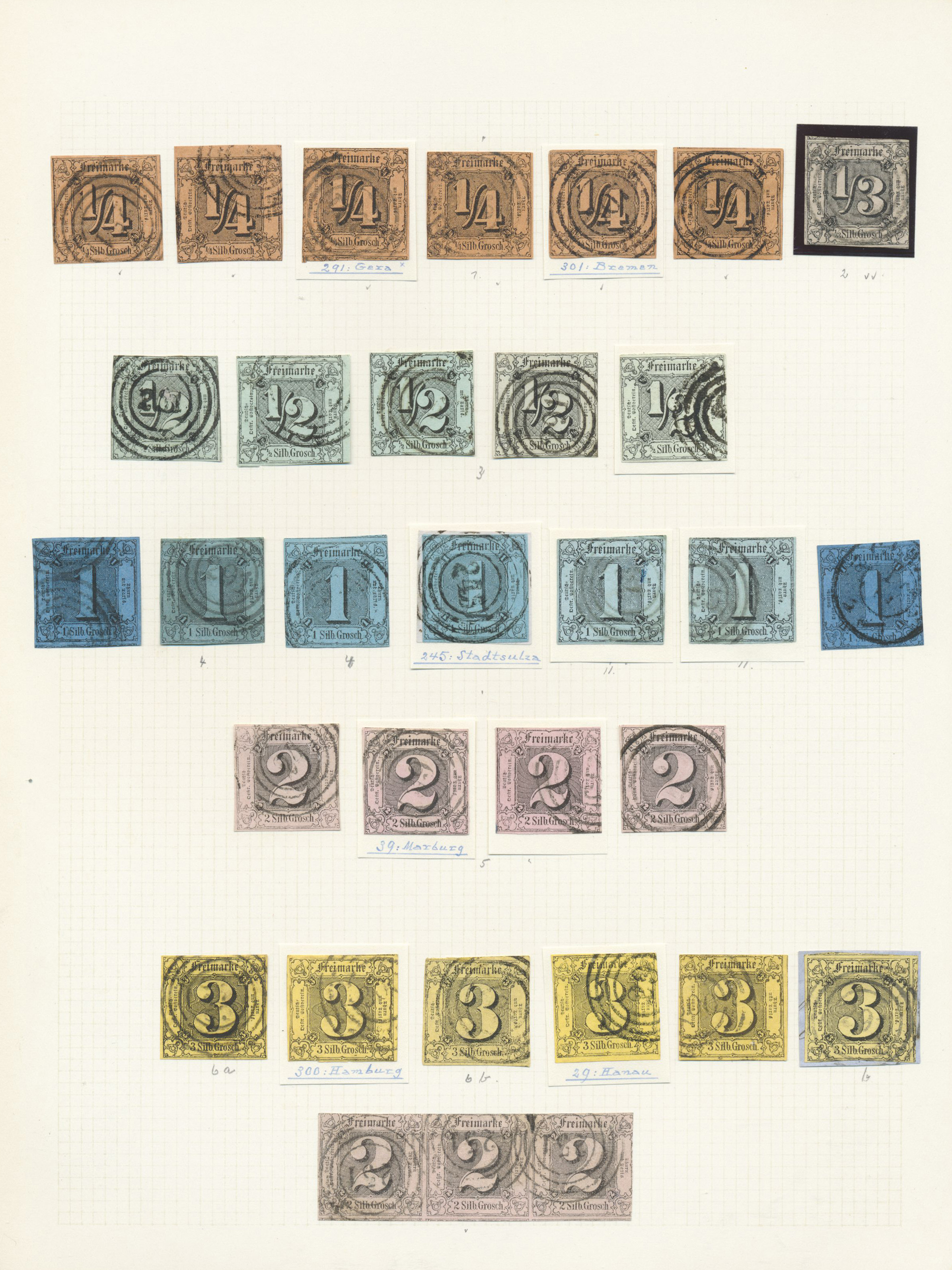 Lot 36491 - Thurn & Taxis - Marken und Briefe  -  Auktionshaus Christoph Gärtner GmbH & Co. KG Collections Germany,  Collections Supplement, Surprise boxes #39 Day 7