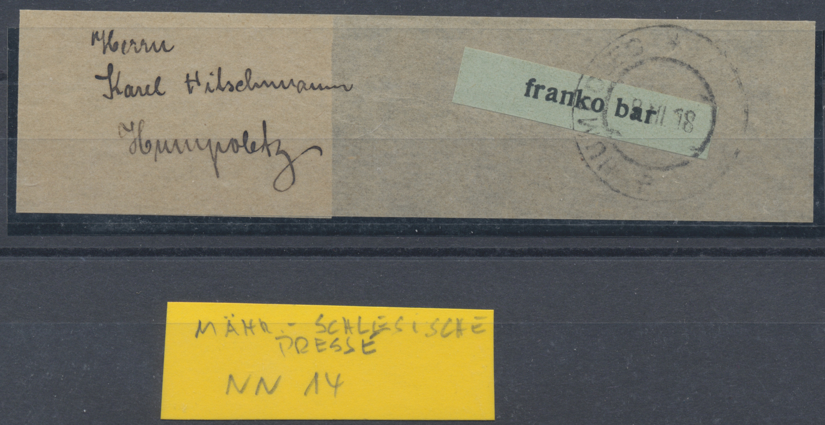 Lot 29763 - Tschechoslowakei - Besonderheiten  -  Auktionshaus Christoph Gärtner GmbH & Co. KG Sale #45Collections Worldwide