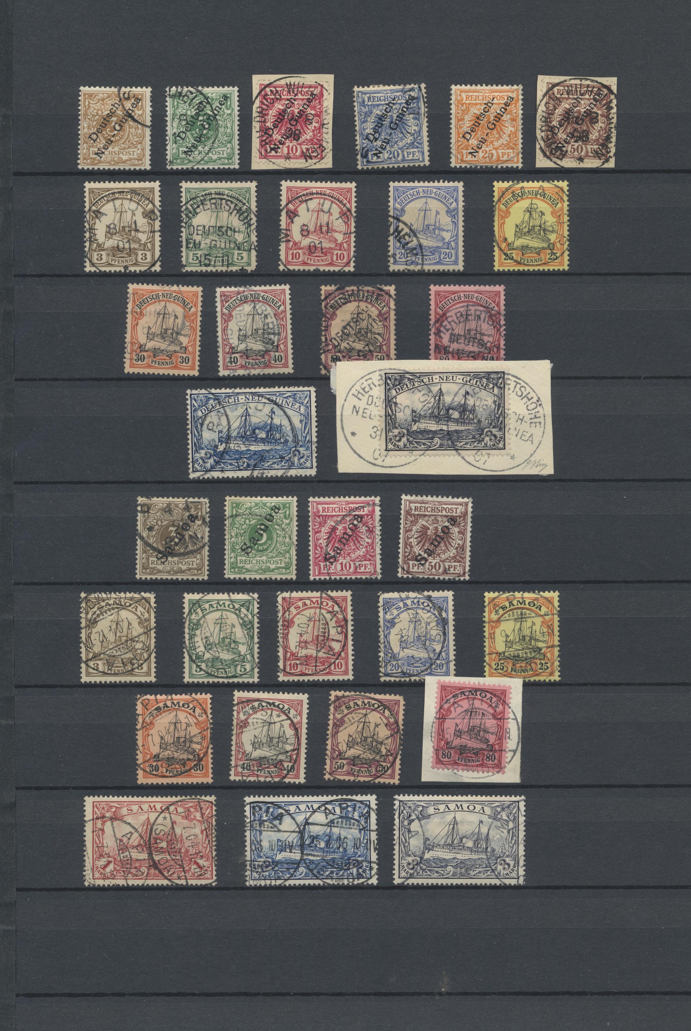 Lot 23549 - deutsche kolonien  -  Auktionshaus Christoph Gärtner GmbH & Co. KG 50th Auction Anniversary Auction - Day 7