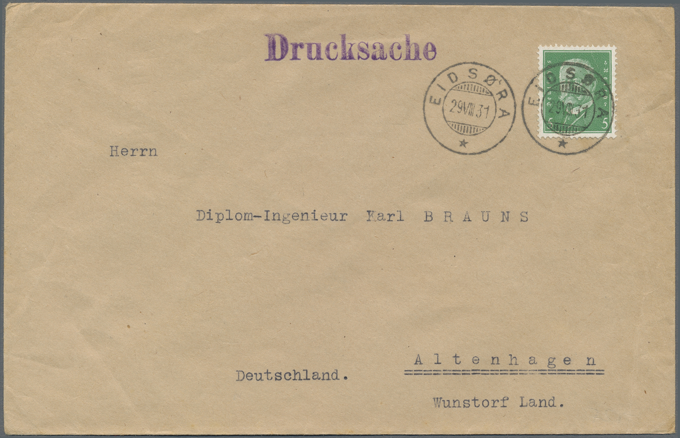 Lot 36883 - Deutsches Reich - Besonderheiten  -  Auktionshaus Christoph Gärtner GmbH & Co. KG Sale #44 Collections Germany