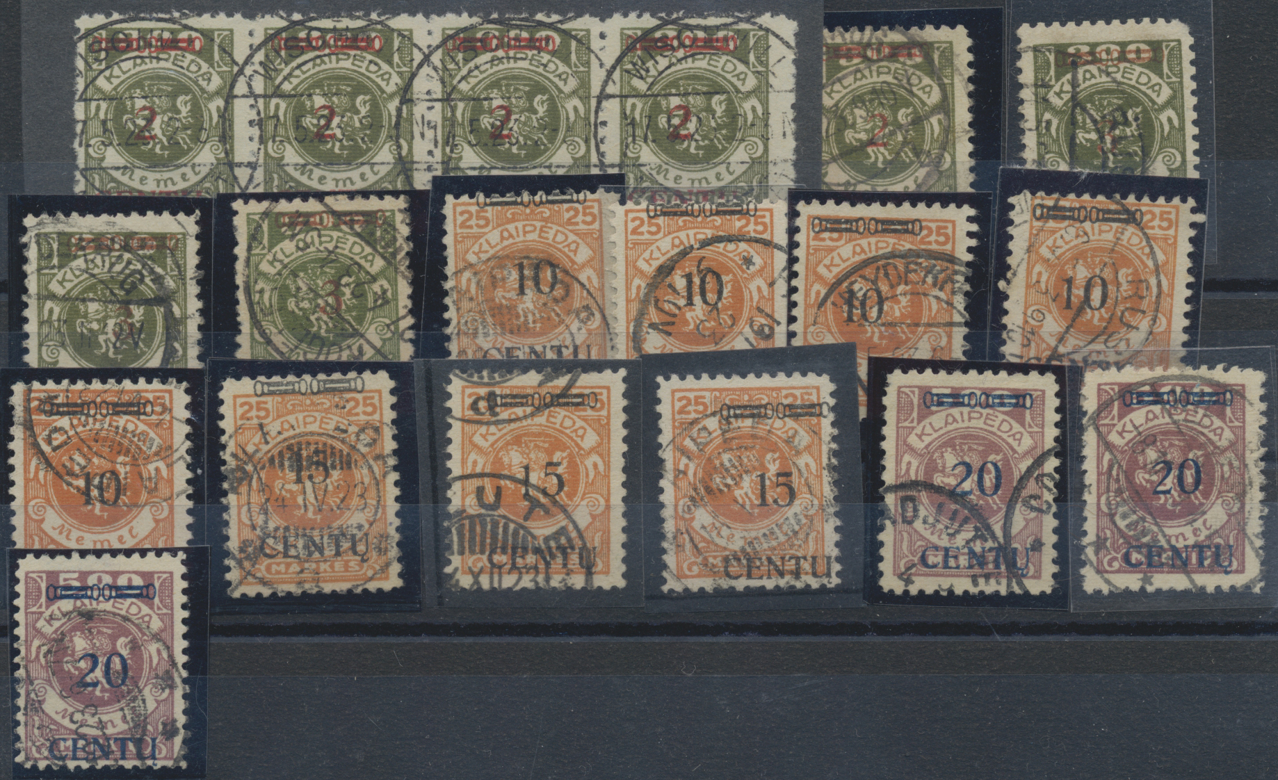 Lot 37068 - Memel  -  Auktionshaus Christoph Gärtner GmbH & Co. KG Sale #44 Collections Germany