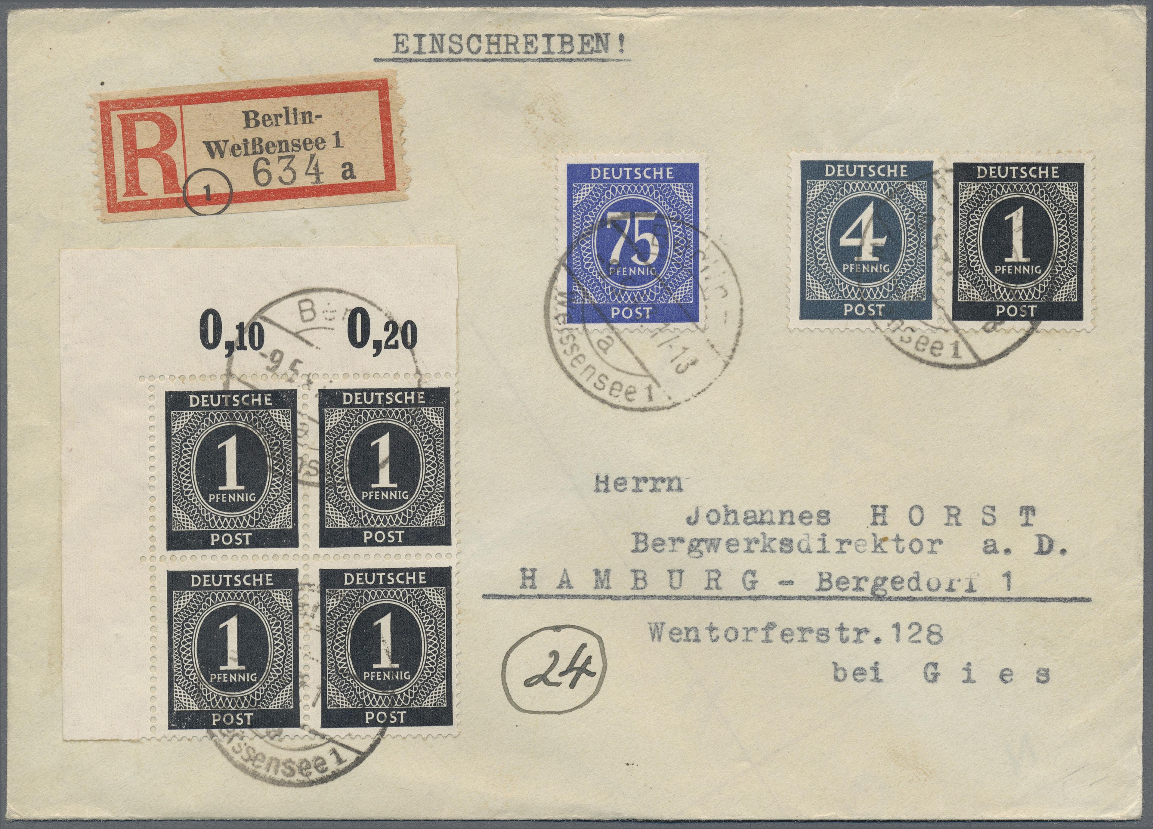 Lot 37893 - Alliierte Besetzung - Gemeinschaftsausgaben  -  Auktionshaus Christoph Gärtner GmbH & Co. KG Collections Germany,  Collections Supplement, Surprise boxes #39 Day 7