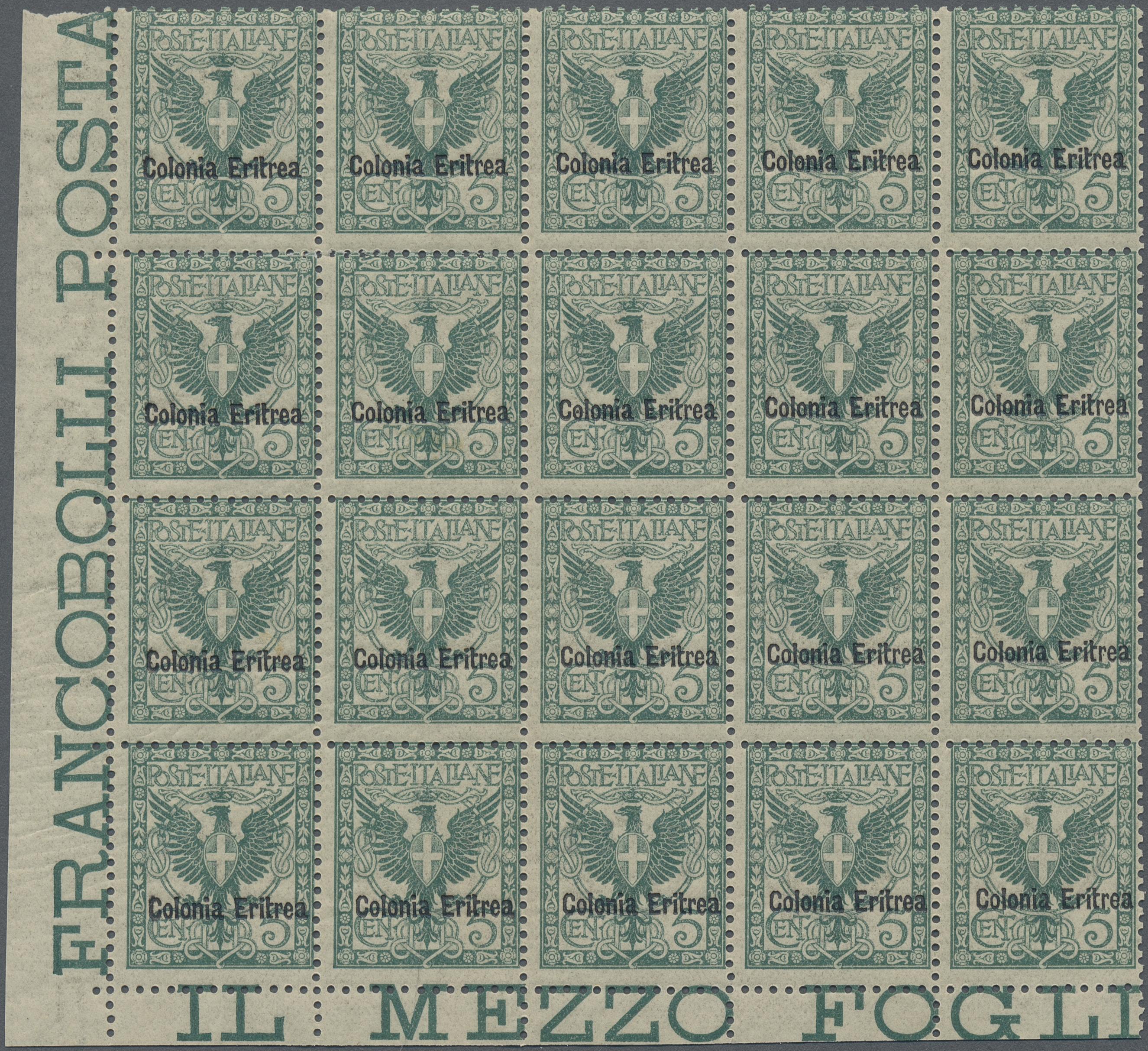 Lot 00870 - italienisch-eritrea  -  Auktionshaus Christoph Gärtner GmbH & Co. KG Special auction