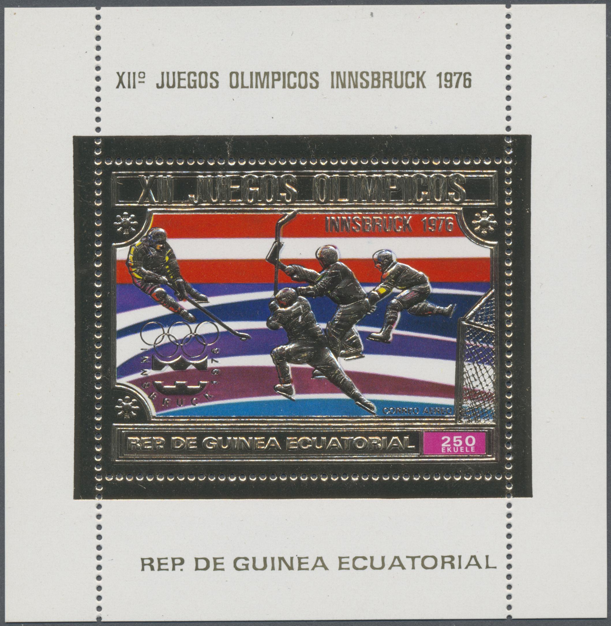 Briefmarken 038 Afrika Guinea Diverse Marken