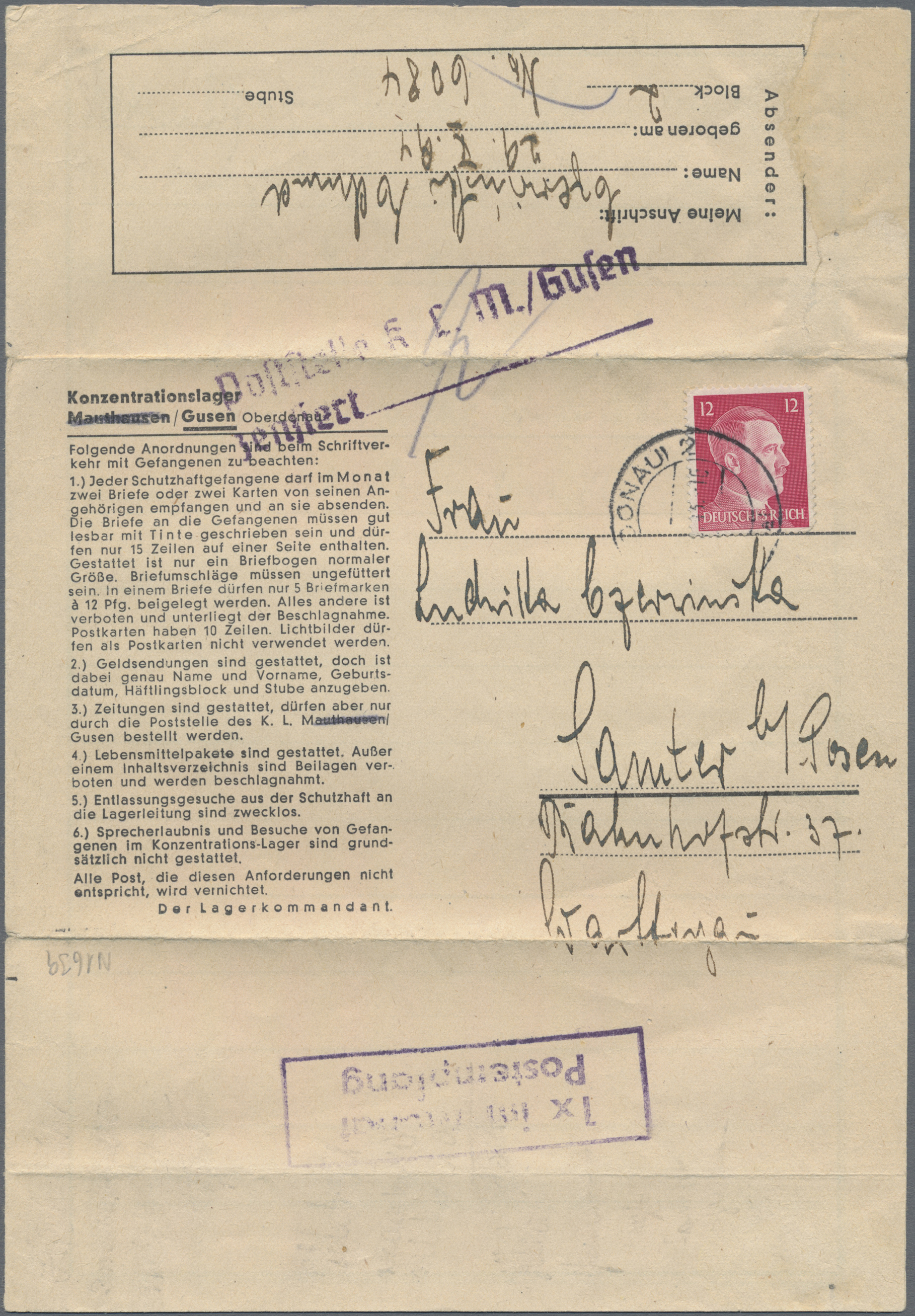 Lot 23986 - kz-post  -  Auktionshaus Christoph Gärtner GmbH & Co. KG Sale #44 Germany, Picture Post cards